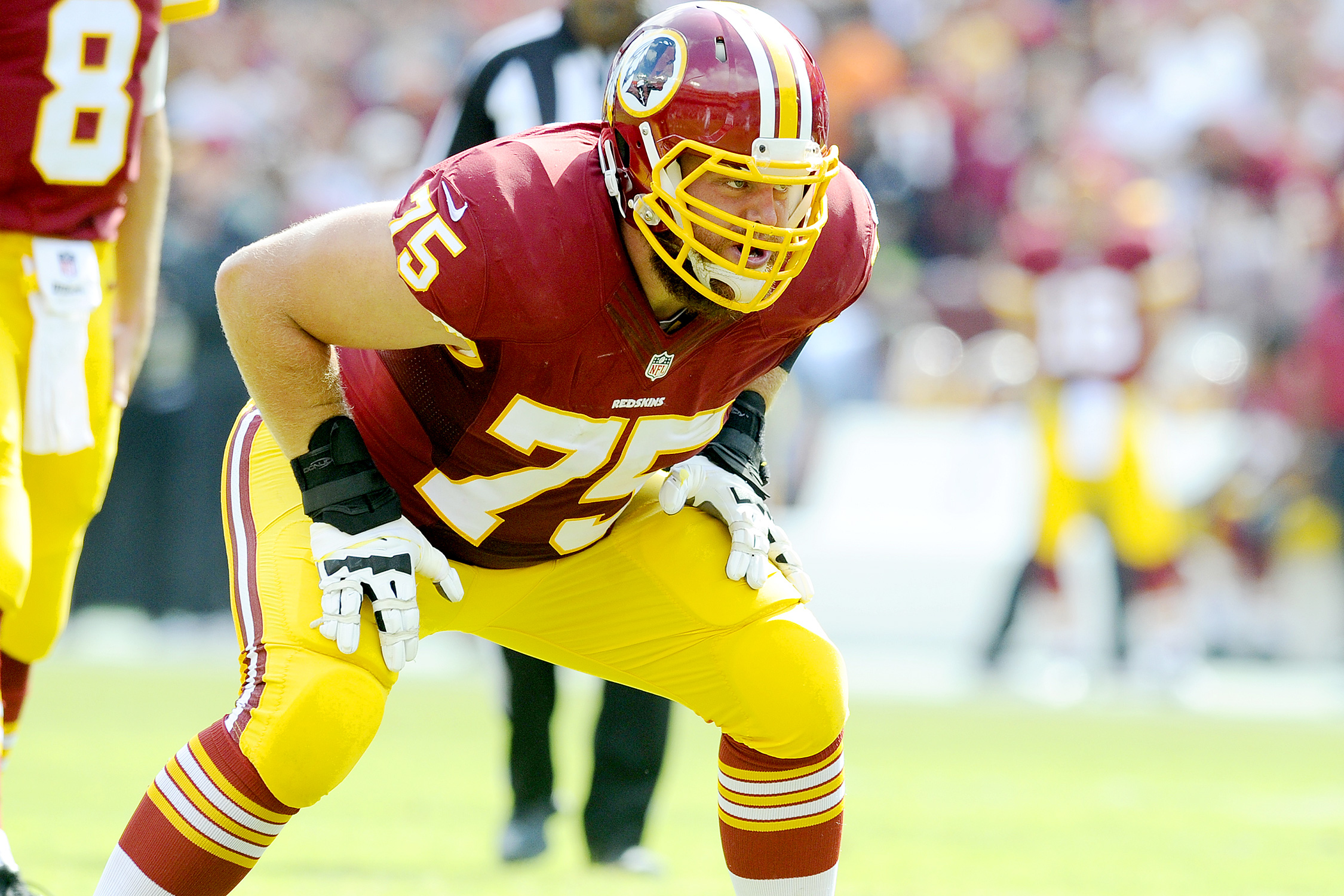 The Redskins took Scherff with the No. 5 pick in the 2015 draft, and that decision is paying off handsomely for them this year. After moving from tackle to guard as a rookie, Scherff has become a dominant presence on Washington line. Just as fellow SI All-Pro guard Zack Martin did in Week 8, Scherff made Fletcher Cox invisible in a Week 6 win over the Eagles, and PFF ranked him as the best right guard in Week 3's win over the Giants.