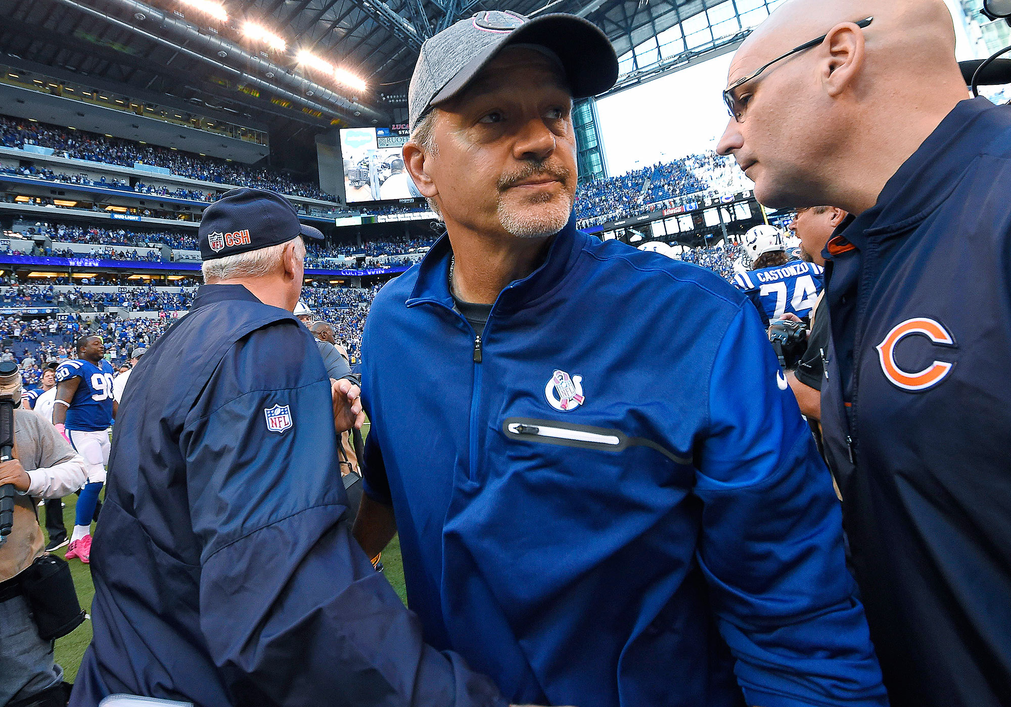 NFL coaching hot seat: Chuck Pagano