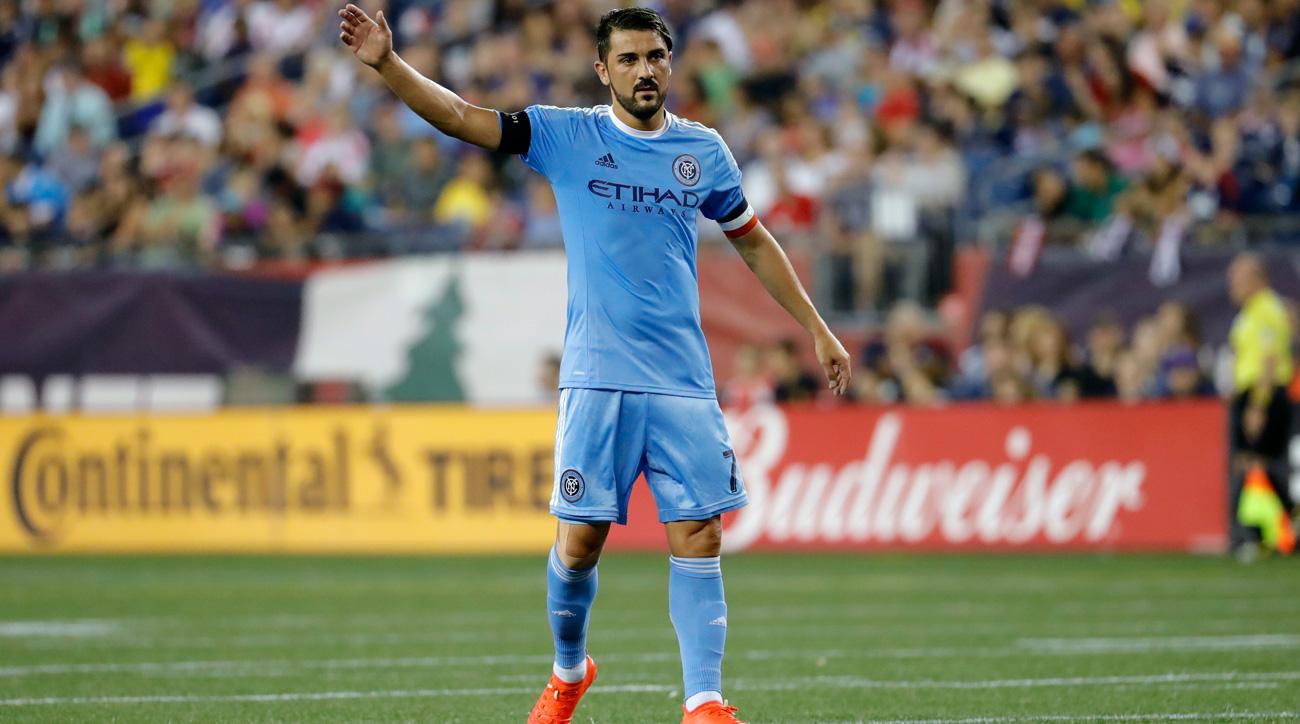 David Villa MLS won t ban NYCFC star for kick at Armando Cooper