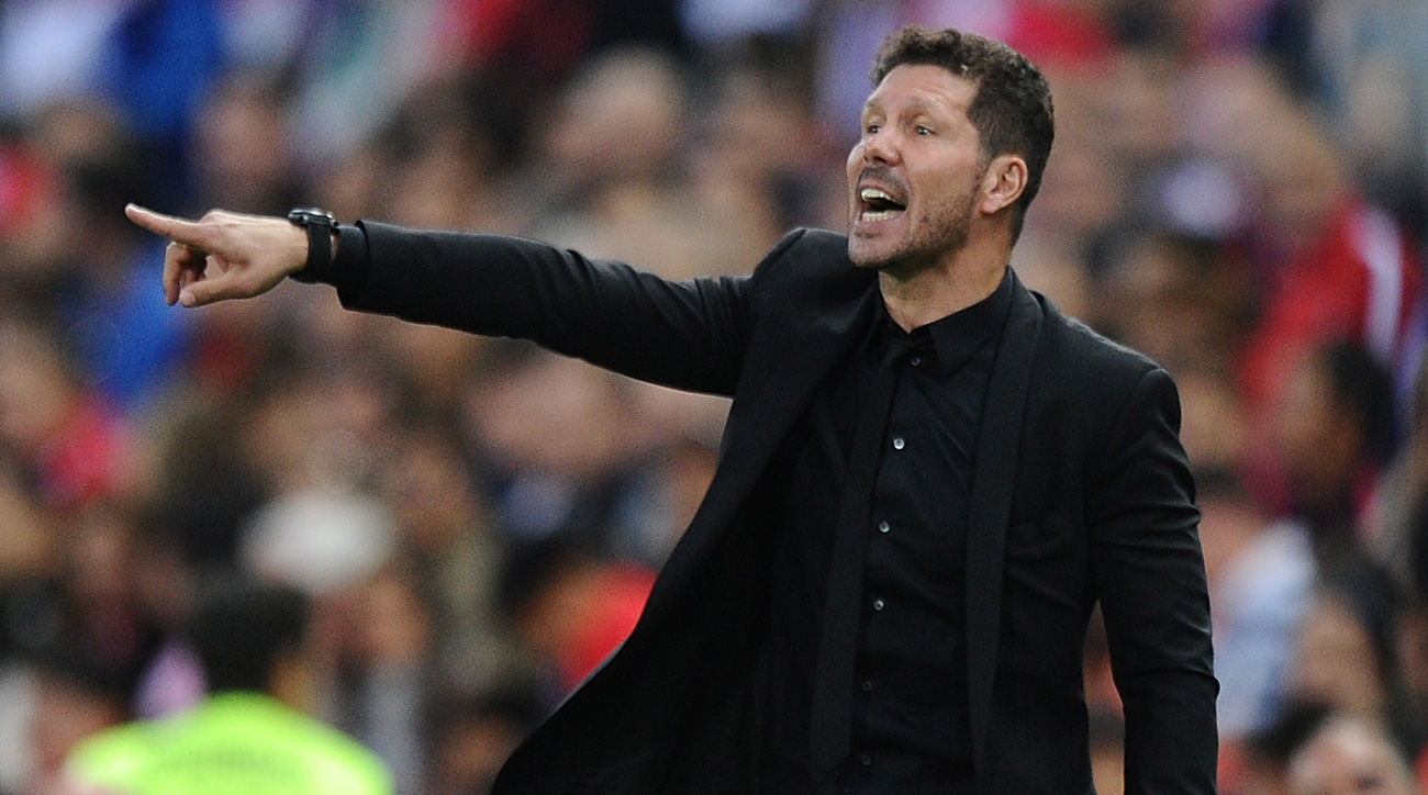 Atletico Madrid manager Diego Simeone is in high demand