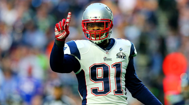 The Patriots traded Jamie Collins to the Browns for a third-round compensatory pick.