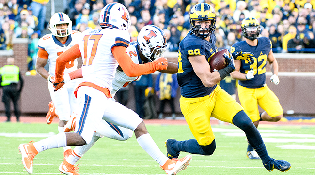 Jake Butt is among the tight ends creating some first-round buzz.