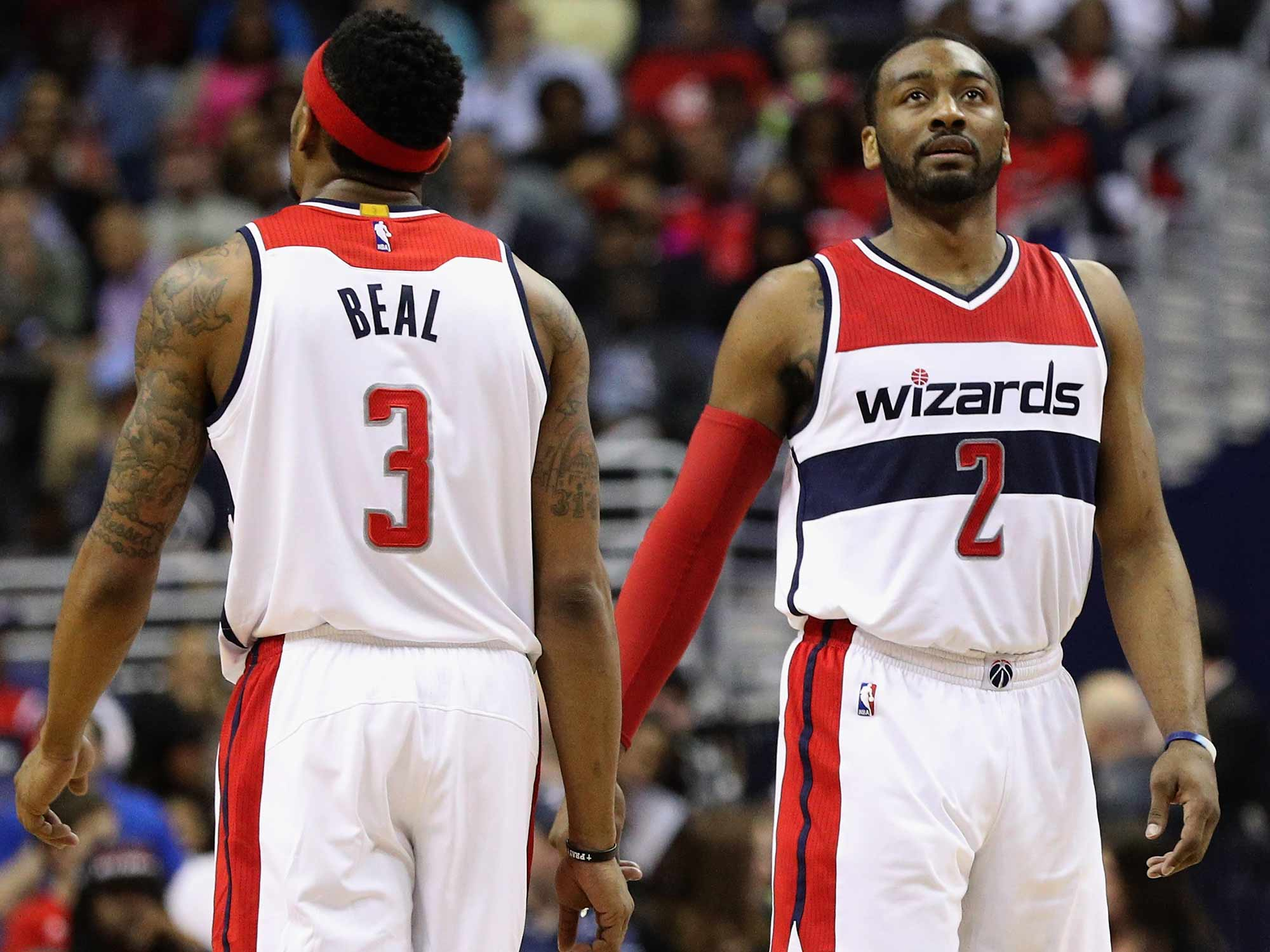 Bradley Beal and John Wall
