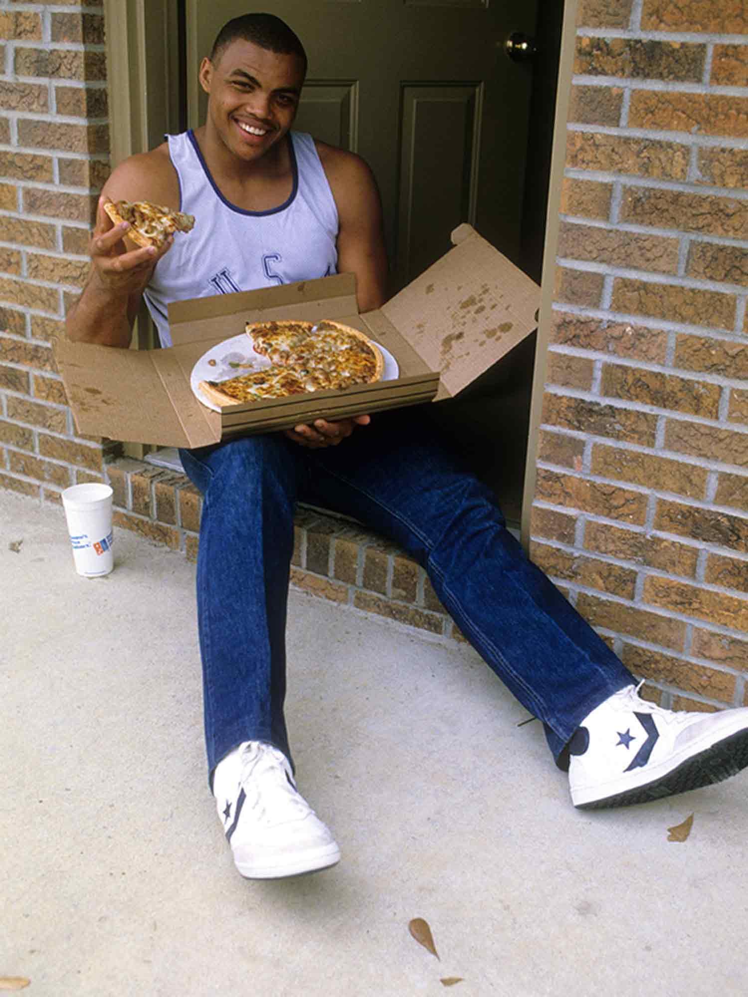 Charles Barkley Loves Pizza Throwback Thursday Si Com