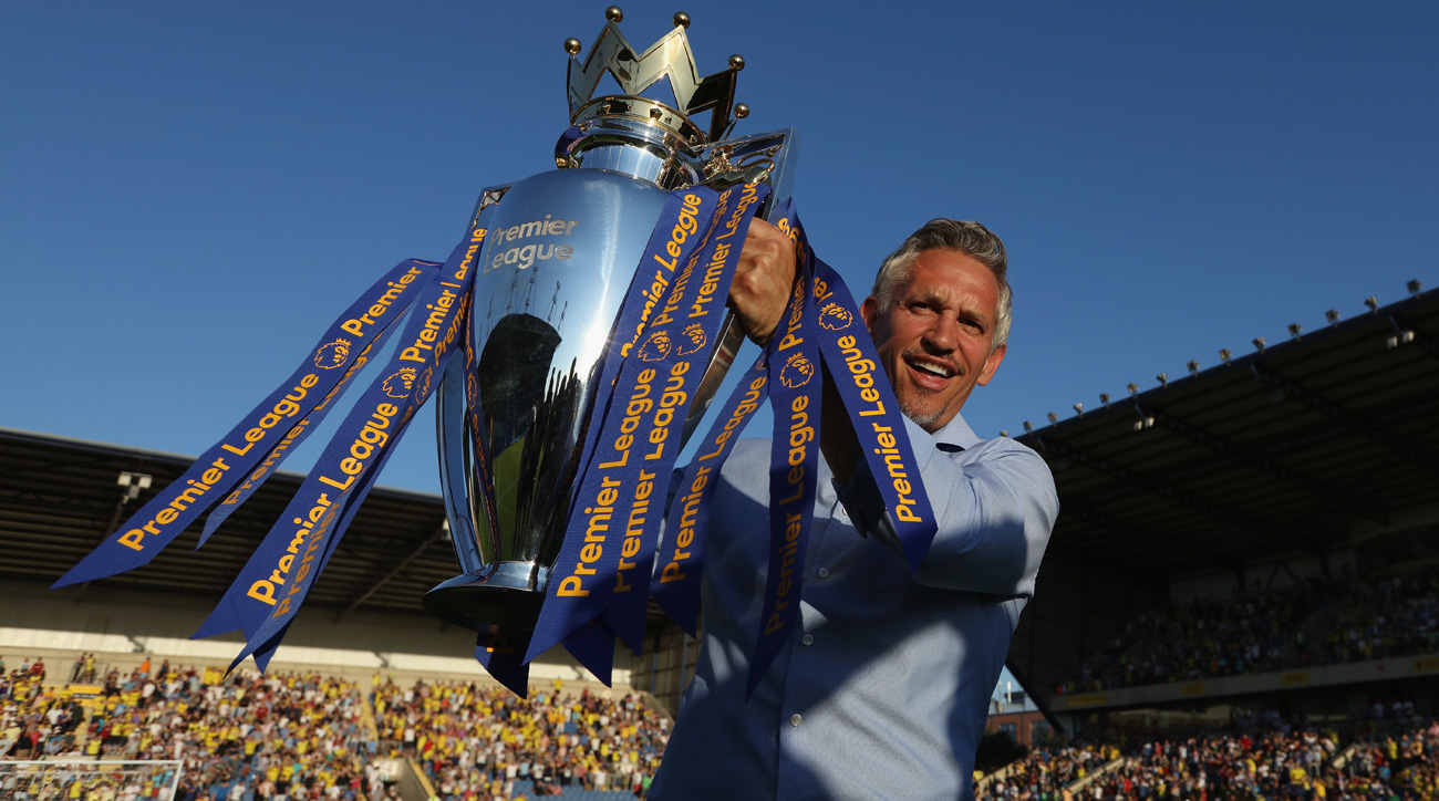 Gary Lineker is a former England national team and Leicester City great