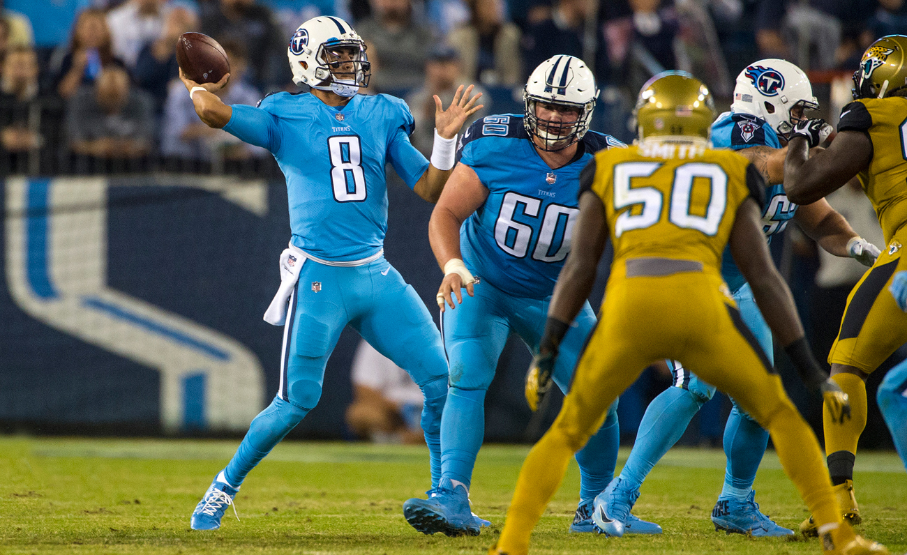 Marcus Mariota has led the Titans to three wins in their past four games.