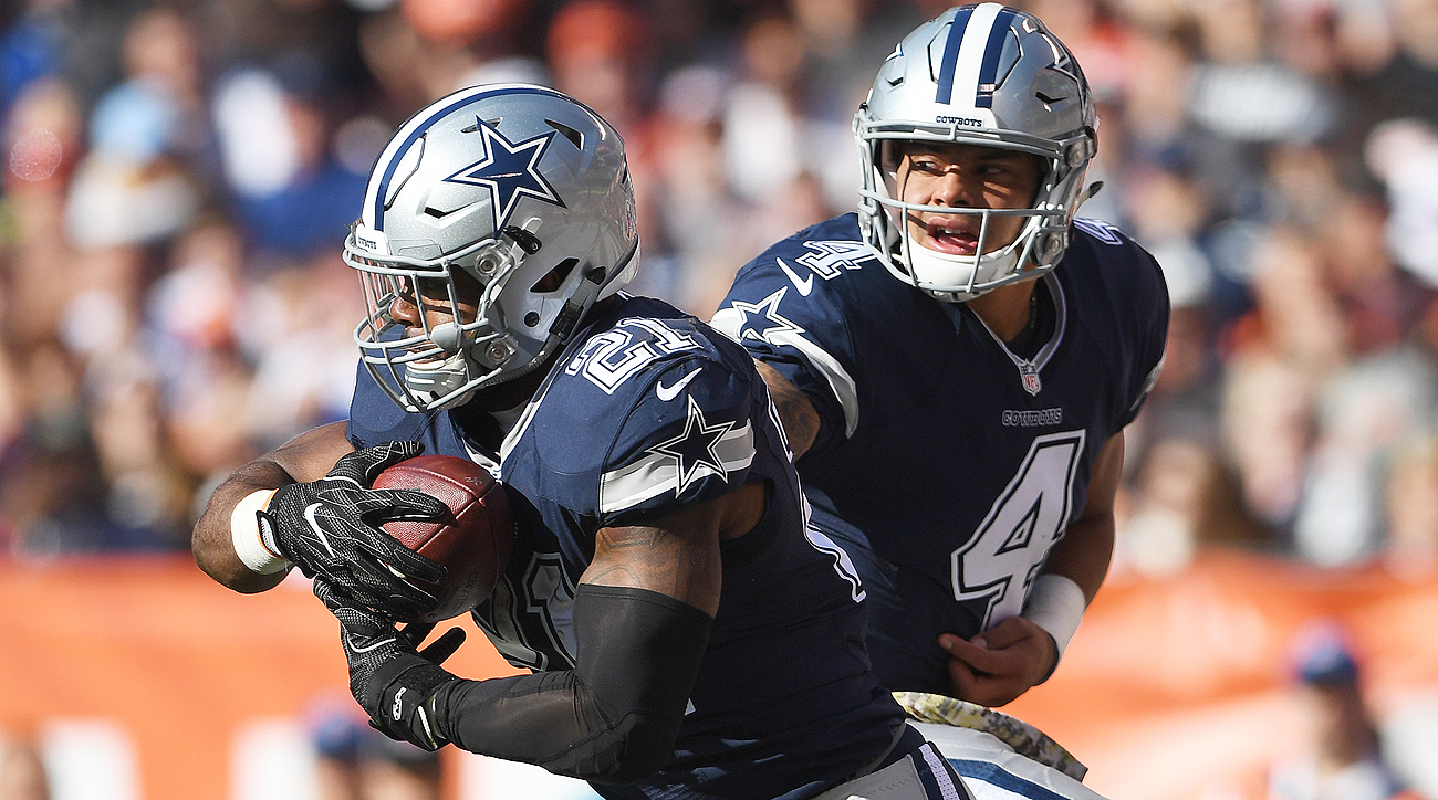 The Cowboys have reeled off seven straight wins with two rookies—Dak Prescott and Ezekiel Elliott—at key offensive positions.