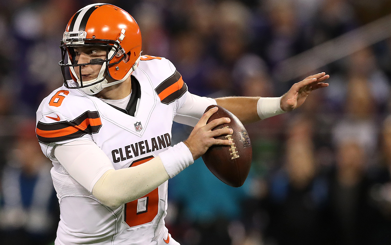 Cody Kessler and the Browns are winless and looking to avoid joining the 2008 Lions as the only teams to finish 0-16.