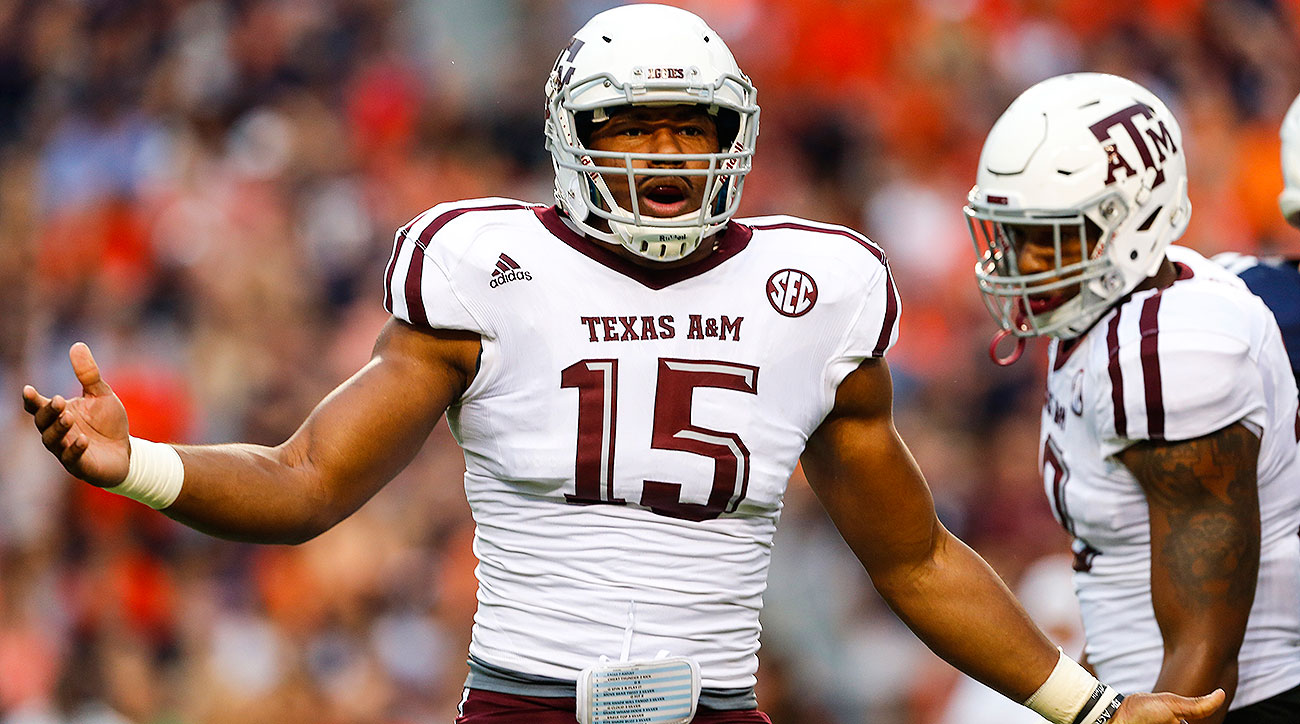 2017 NFL draft edge rusher rankings: Myles Garrett, Tim Williams, Raekwon McMillan