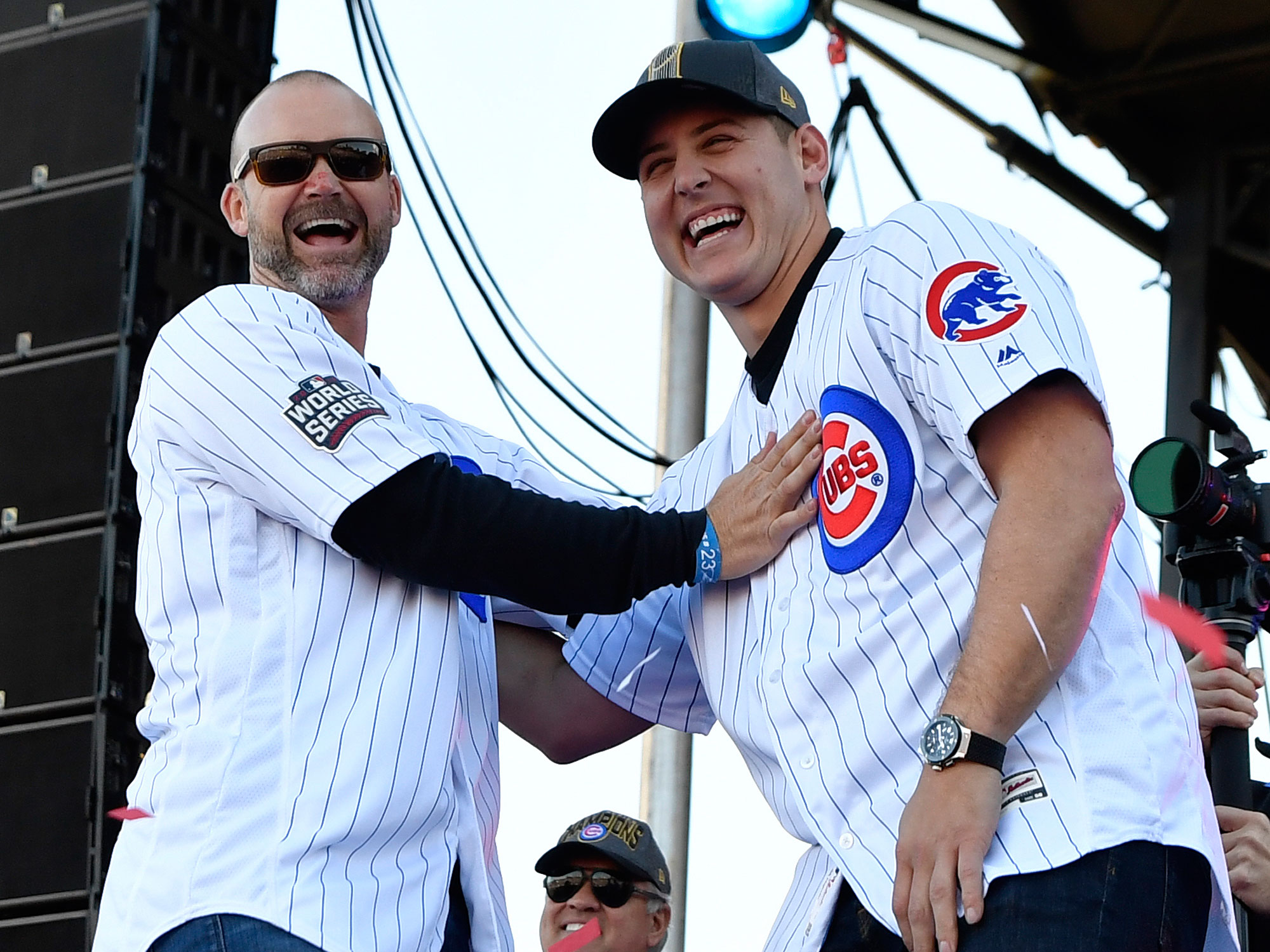 David Ross and Anthony Rizzo, Chicago Cubs