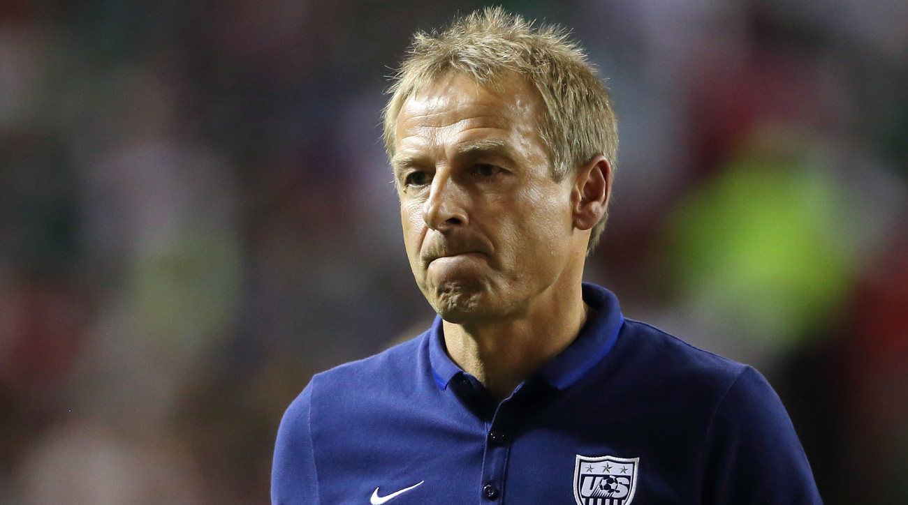 Jurgen Klinsmann and the USA endure a brutal World Cup qualifying loss to Costa Rica