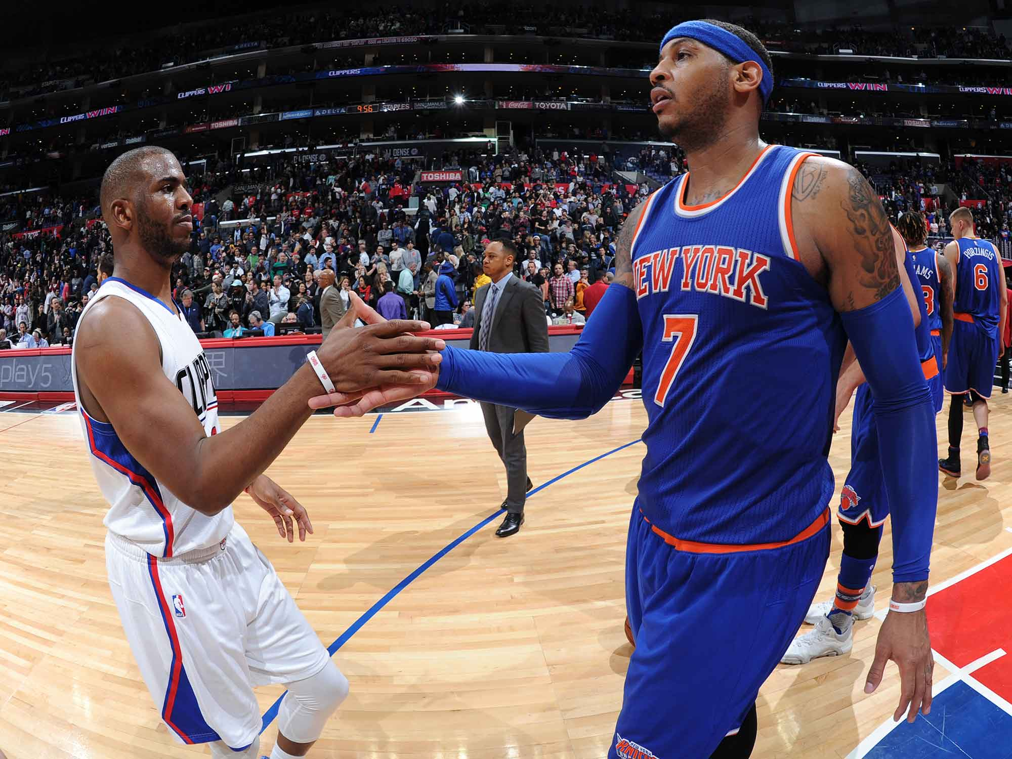 Chris Paul and Carmelo Anthony