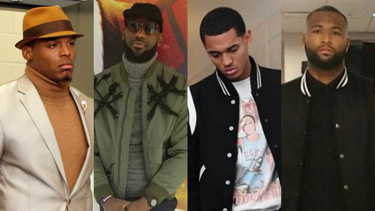 Sports Style Swipe: Cam Newton, LeBron James, Jordan Clarkson and DeMarcus Cousins IMG
