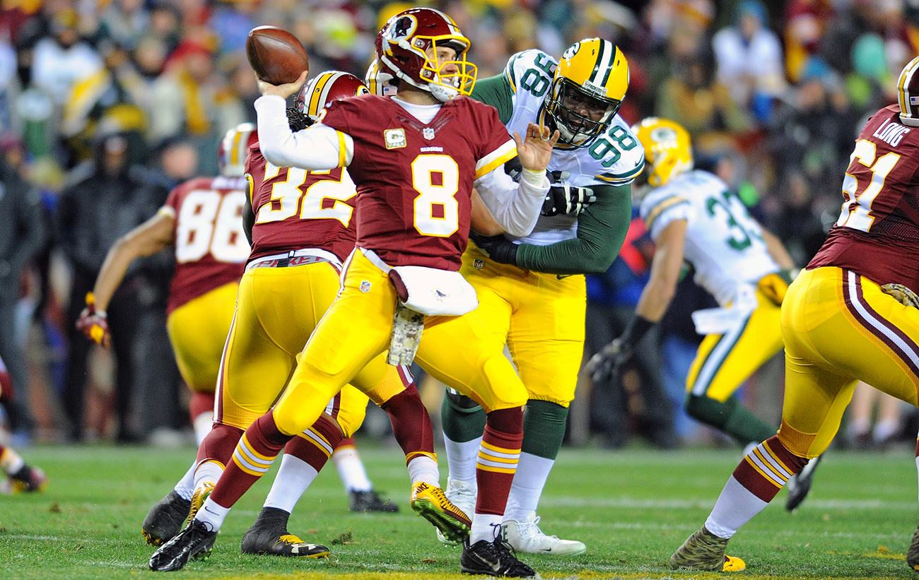 Since the beginning of the 2015 season, Washington is 15-10-1 with Kirk Cousins as the starter.