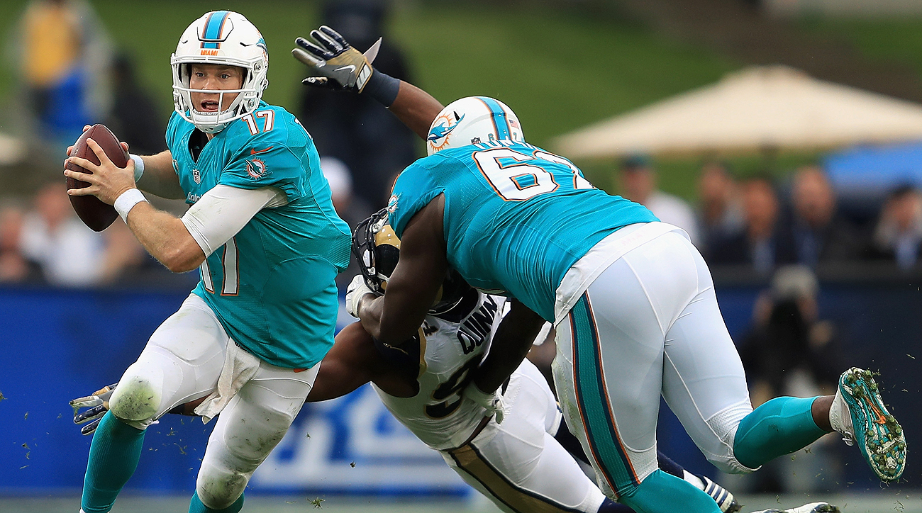 After Sunday's 14-10 victory in Los Angeles, Ryan Tannehill has now led the Dolphins to four comeback wins this season.