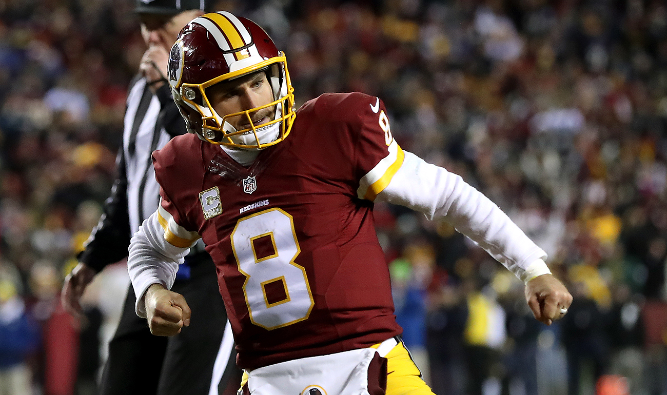 Kirk Cousins isn't lacking for confidence as he plays to prove his worth in Washington.