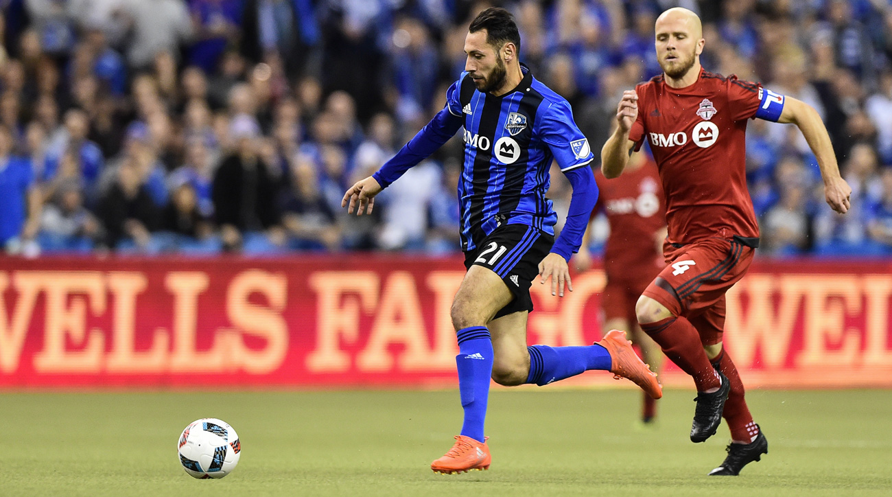 Montreal Impact hold a 3-2 edge over Toronto FC in the MLS Eastern Conference finals