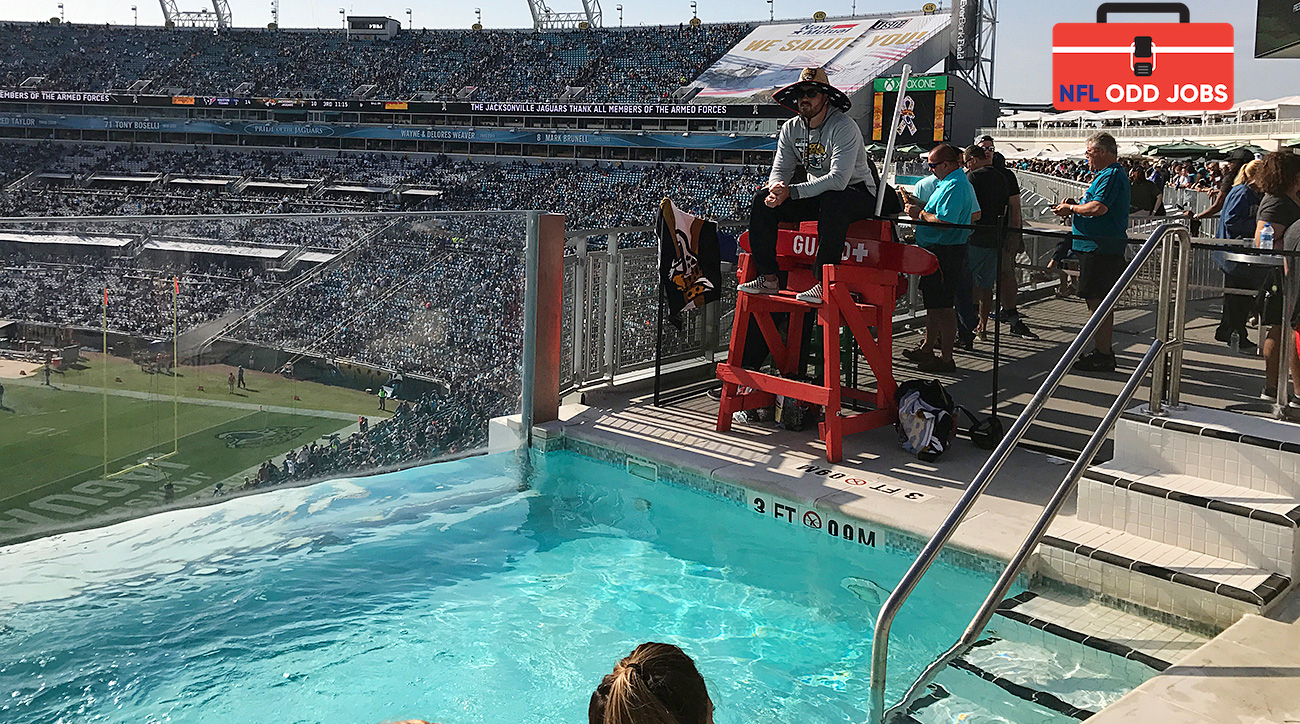 Jaguars 39 Lifeguard Says He Has 39 Best Job In The Nfl 39