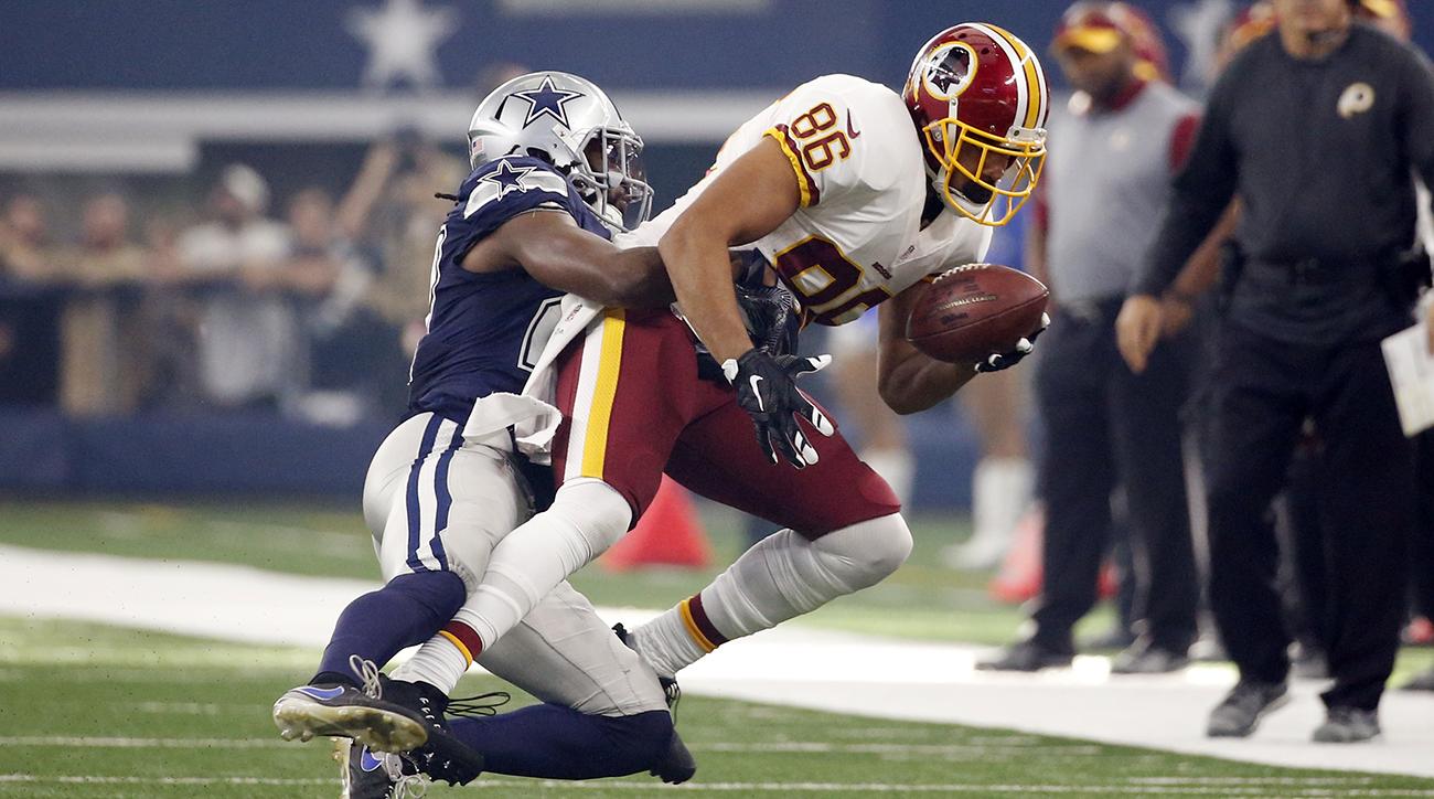 Jordan Reed injury news Redskins TE separated shoulder