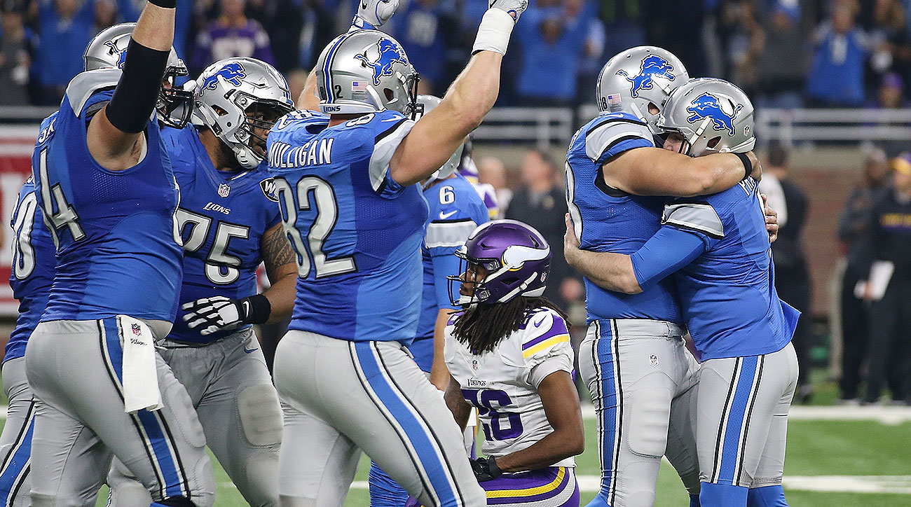 Lions vs. Vikings: Score, highlights, NFL playoff race update after Thanksgiving Day games