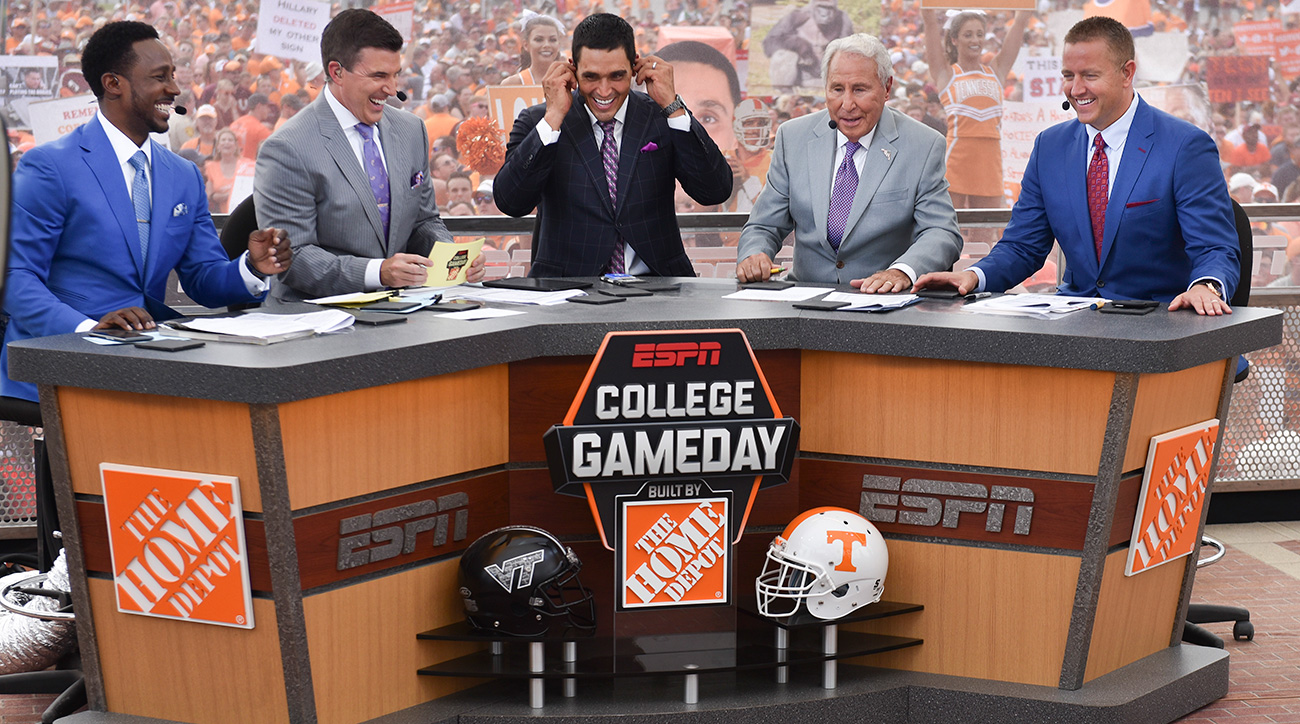 College GameDay's plan for Michigan-Ohio State | SI.com
