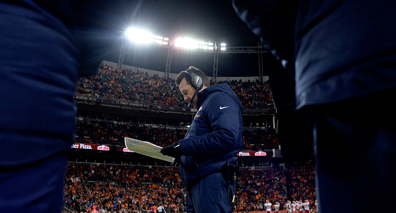 The Sunday night spotlight was squarely on Broncos coach Gary Kubiak in the wake of his decision to kick a field goal late in overtime.