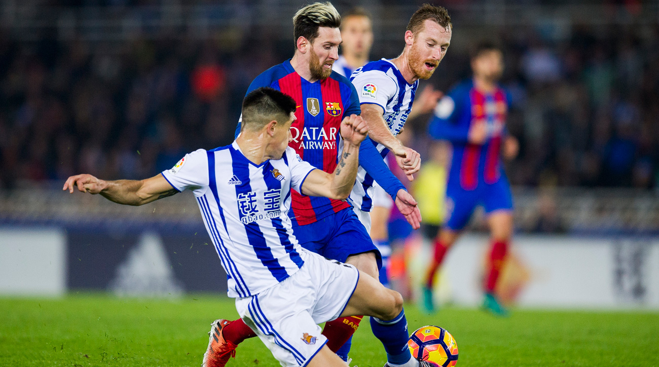 Barcelona settles for a draw vs. Real Sociedad