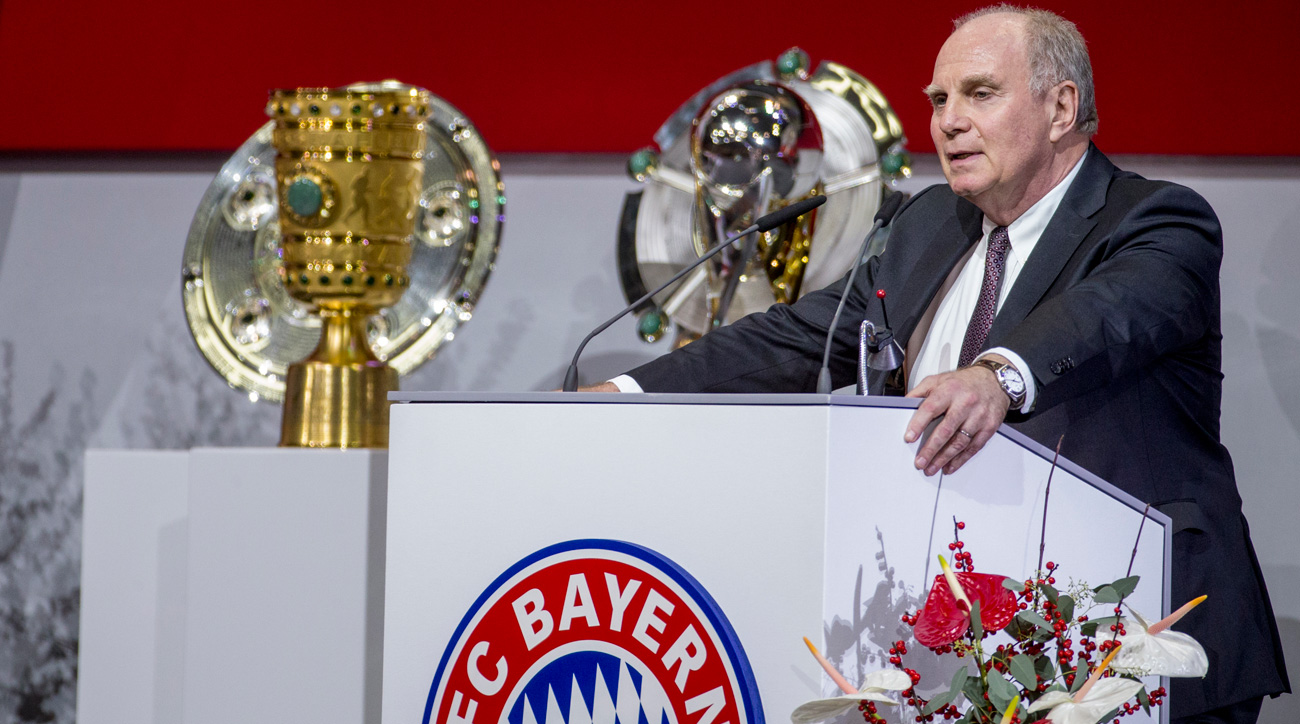 Uli Hoeness has returned as president of Bayern Munich