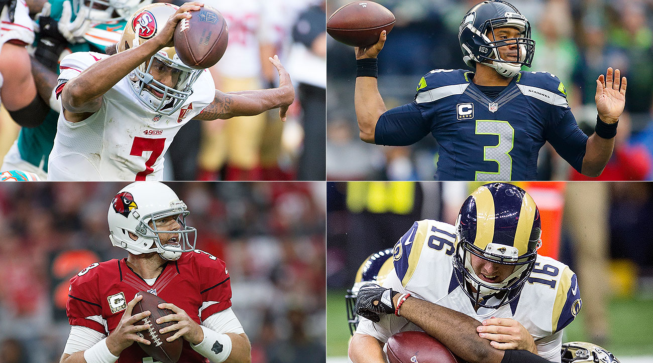 NFC West quarterbacks