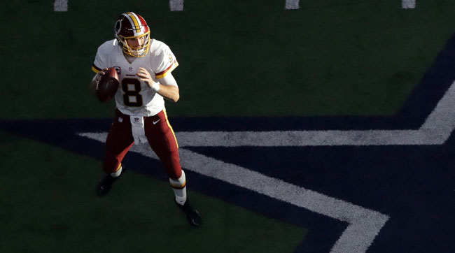 Washington Redskins QB Kirk Cousins.