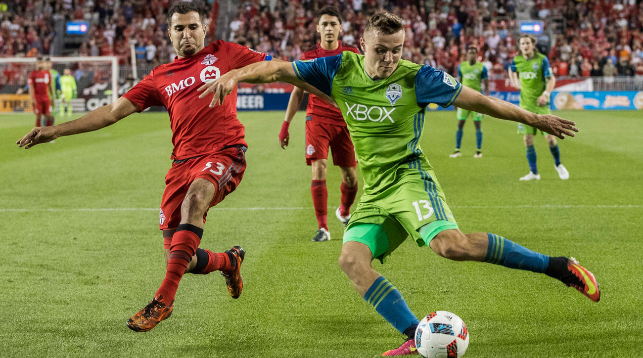 Jordan Morris and the Seattle Sounders will take on Toronto FC in MLS Cup
