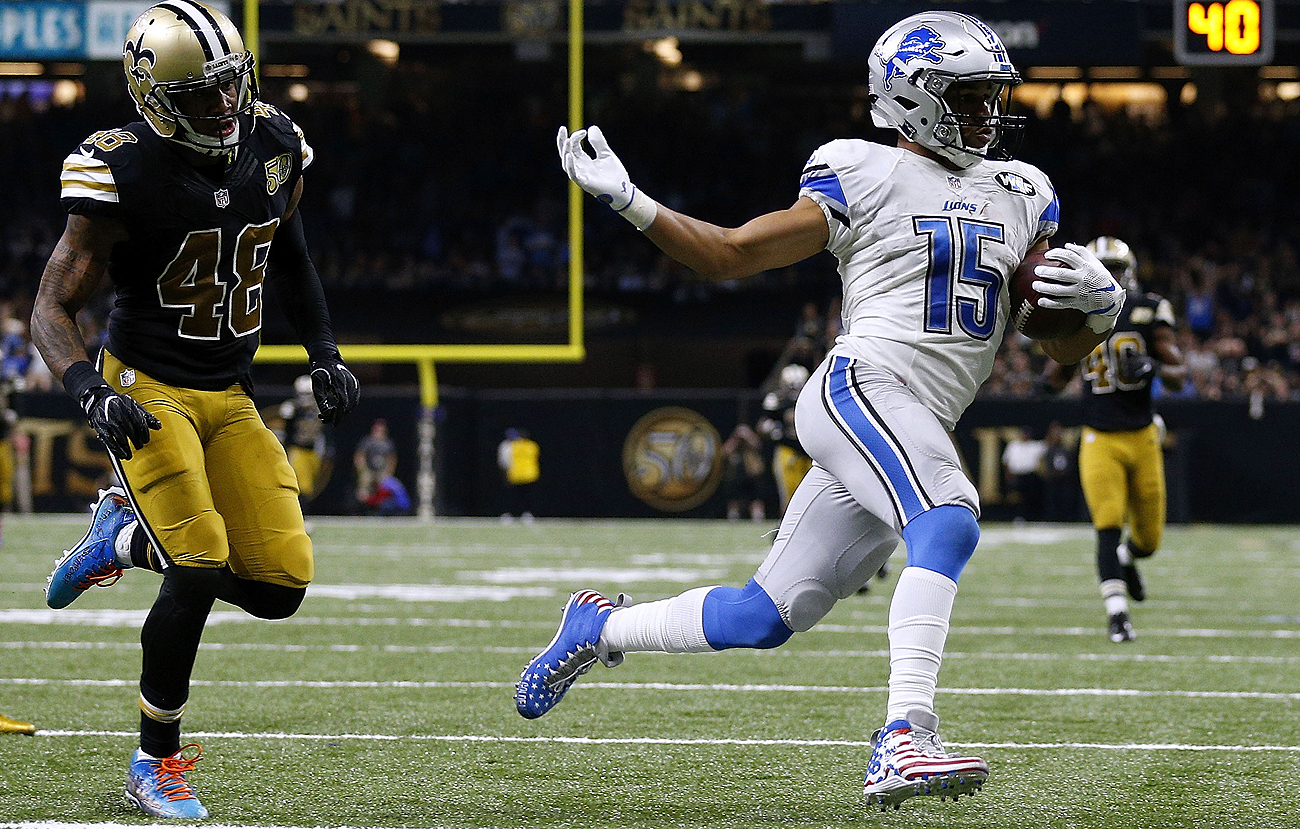 After Sunday's win over the Saints, Golden Tate and the Lions are in the driver's seat in the NFC North.