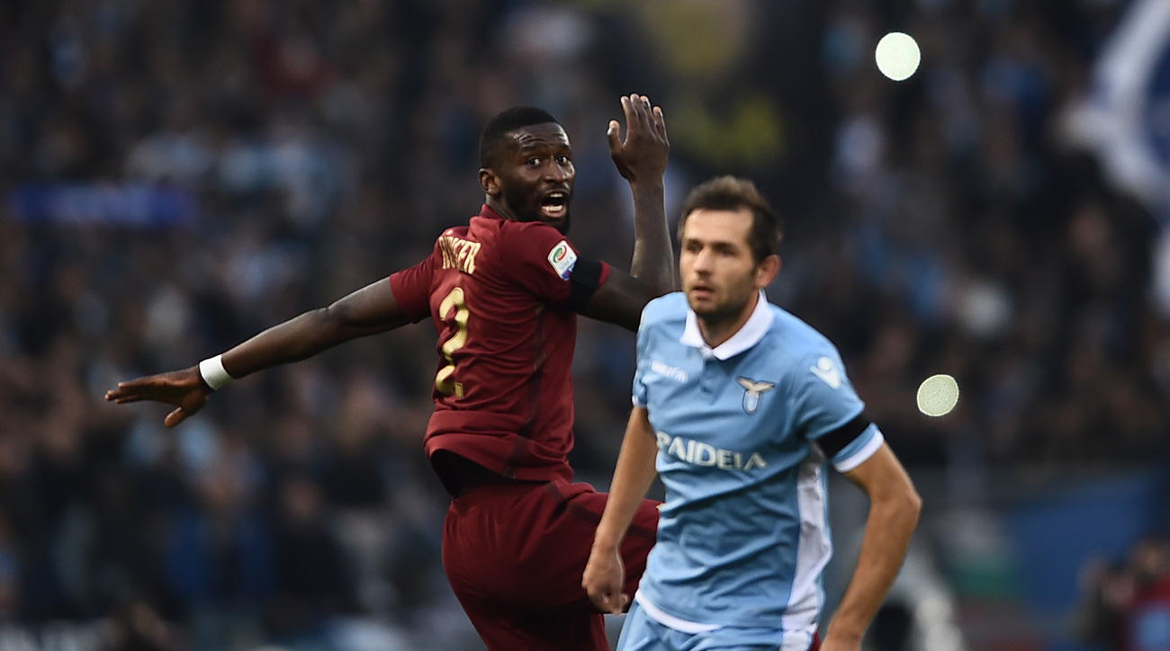 Senad Lulic made racist comments regarding Antonio Rudiger after Lazio's loss to Roma