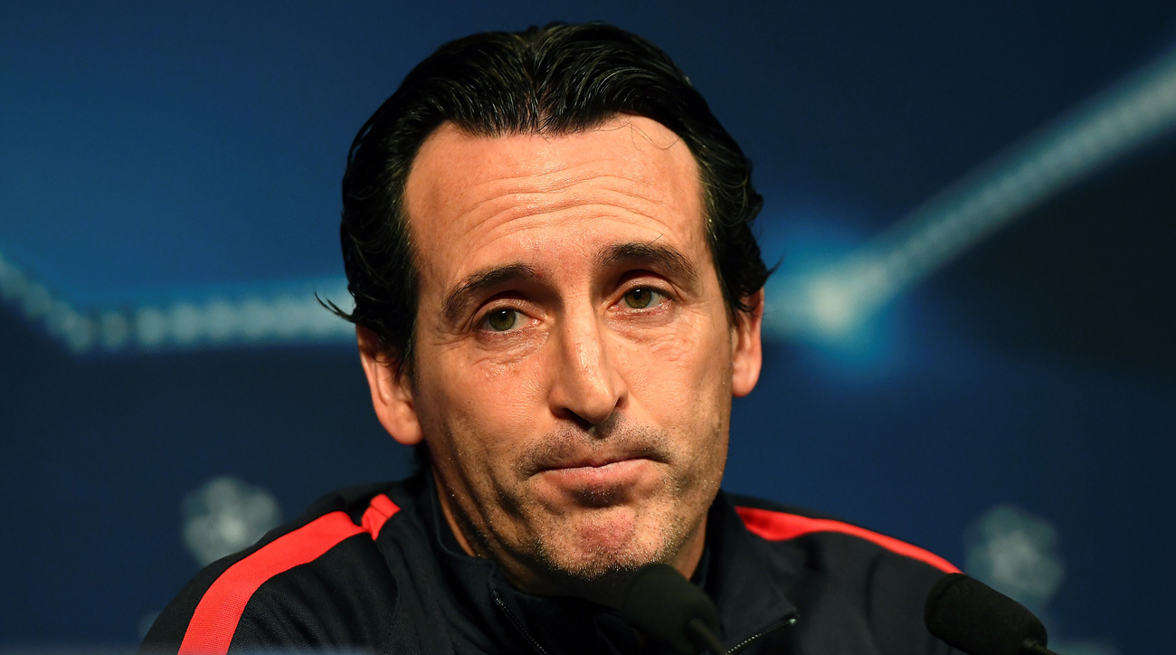 Unai Emery is under continued pressure to produce at PSG