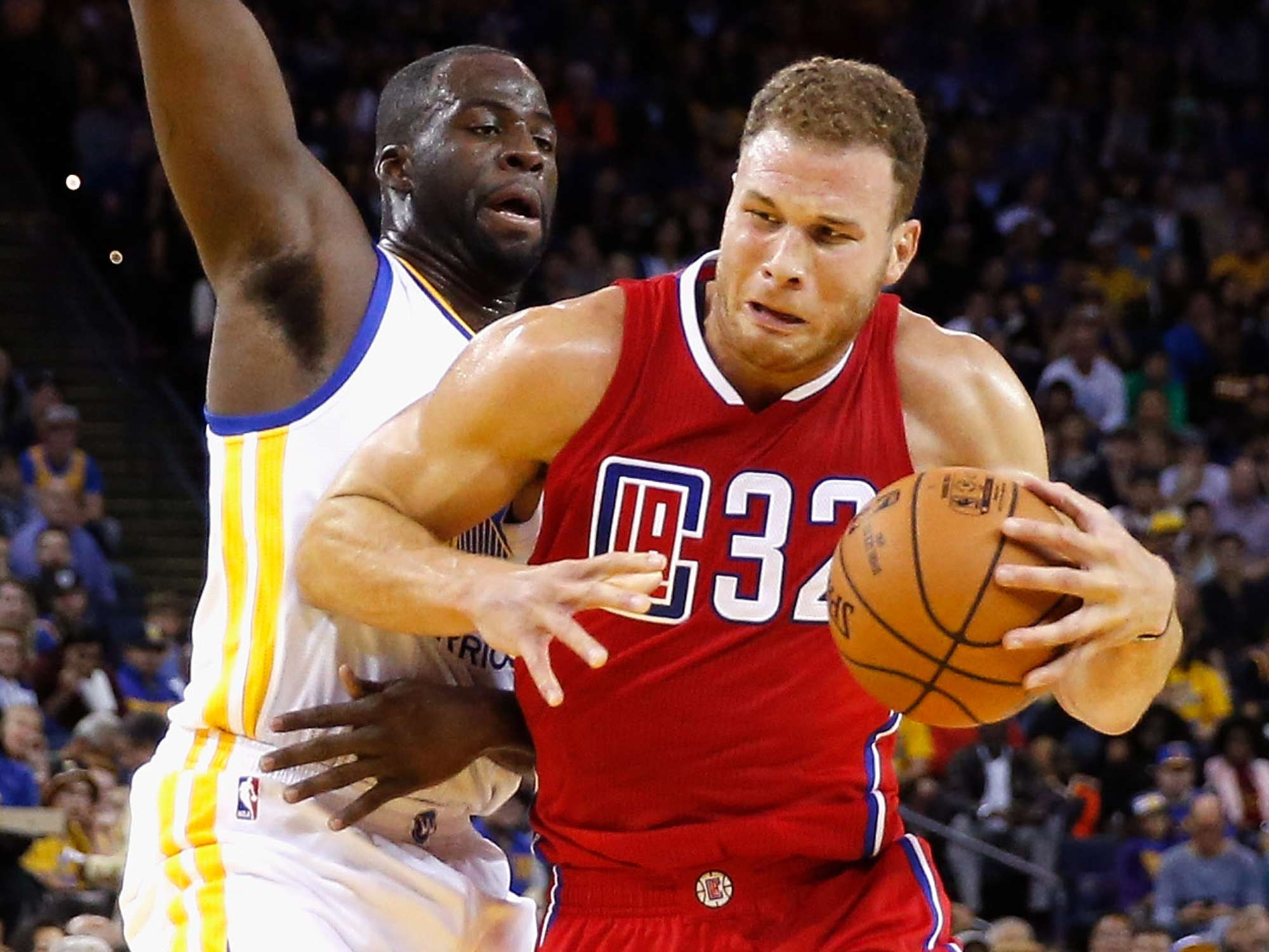 Draymond Green and Blake Griffin