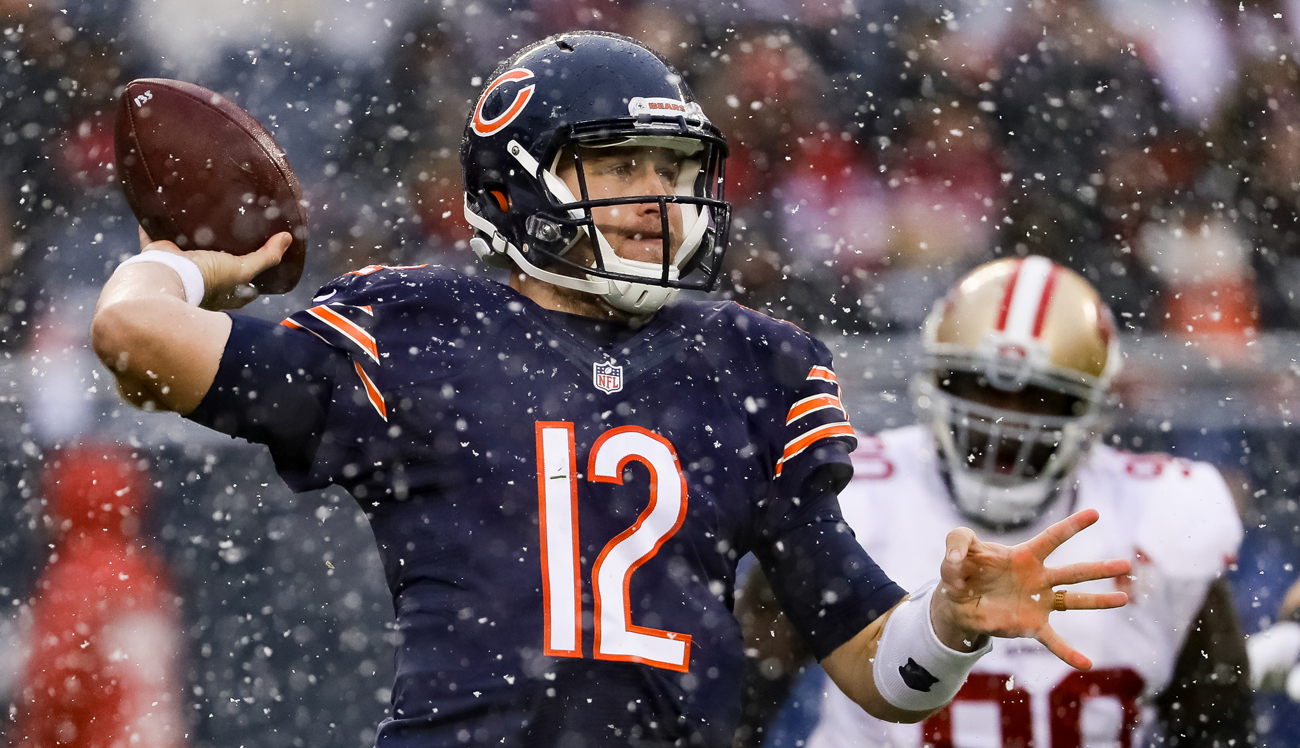 Matt Barkley has been a pleasant surprise in an otherwise lousy season for the Bears.
