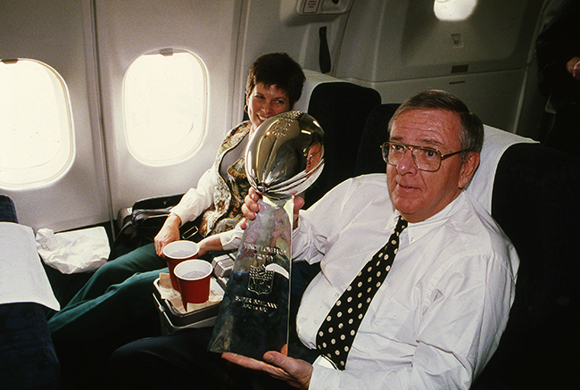 A largely home-grown roster brought the Lombardi Trophy back to Green Bay in 1996.