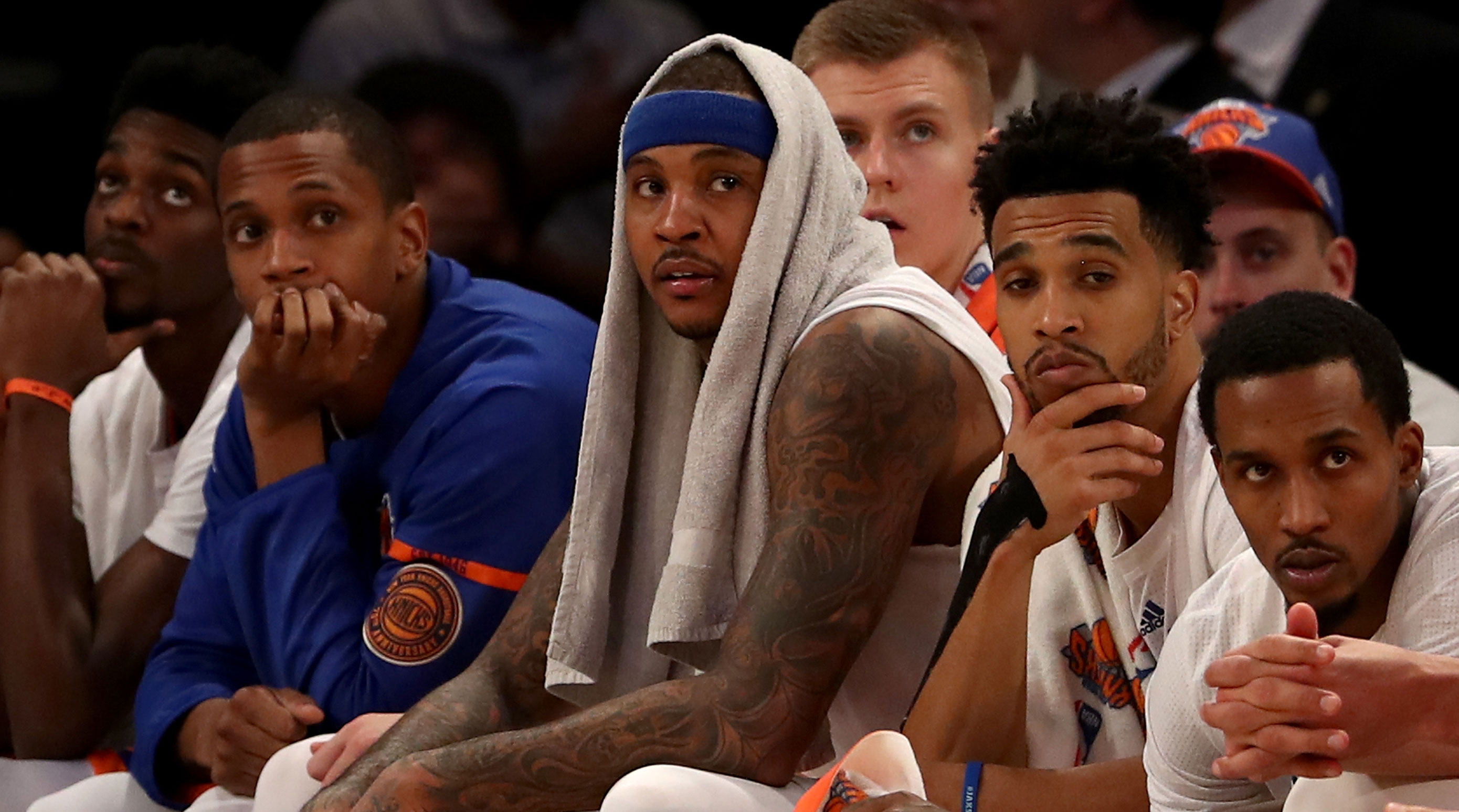Carmelo Anthony might be mad at Phil Jackson on Instagram ...