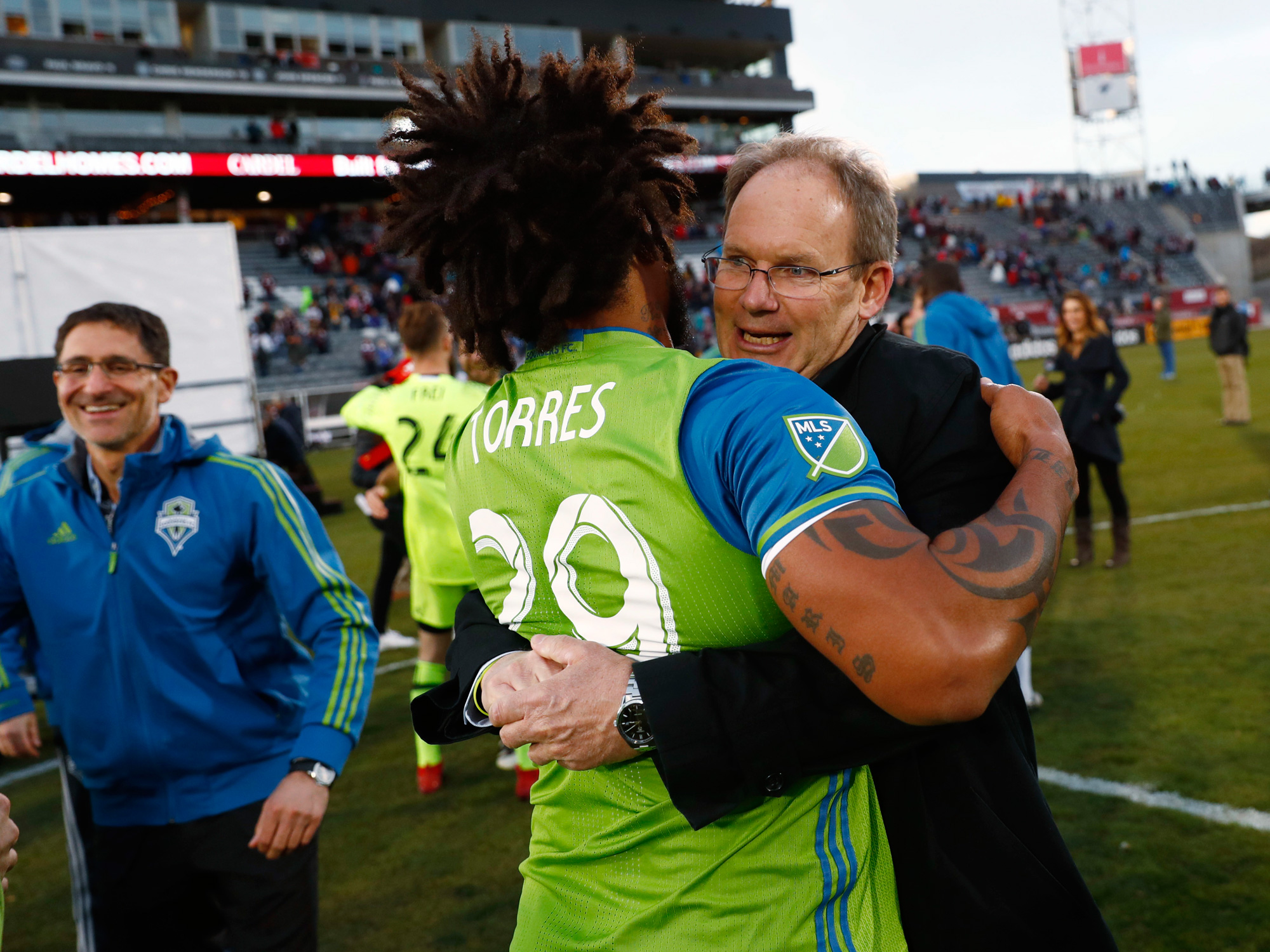 Brian Schmetzer took over for Sigi Schmid during the summer with the Seattle Sounders struggling