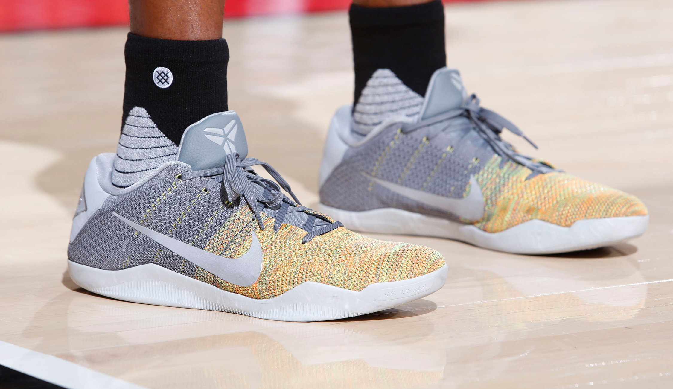 Adidas Crazy Explosive Shoes On Someone