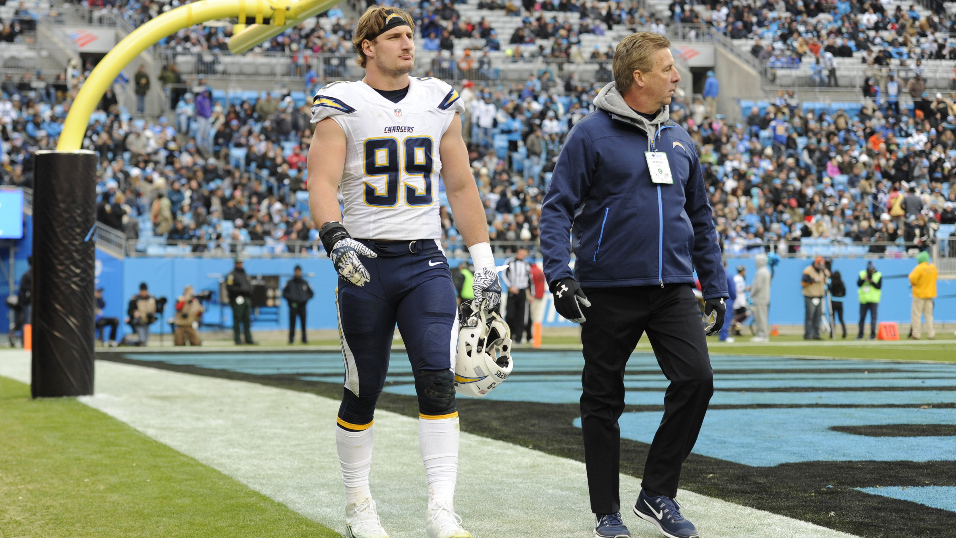 NFL injuries Melvin Gordon Joey Bosa Ryan Tannehill