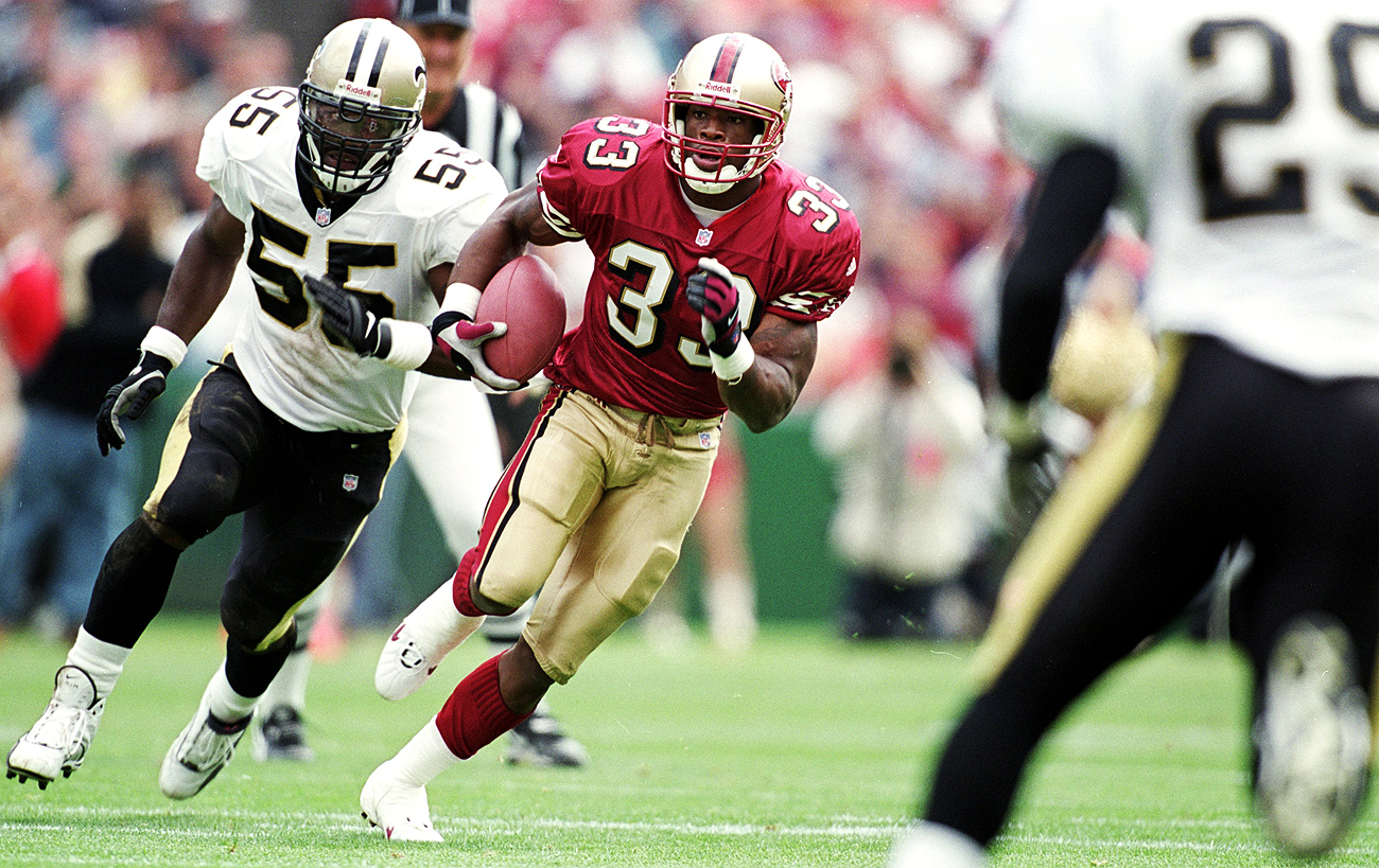 Lawrence Phillips spent parts of three seasons in the NFL, playing for the 49ers, Dolphins and Rams.