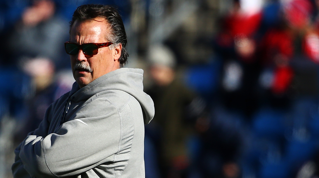 Jeff Fisher was fired after the Rams were assured of a fifth straight losing season on his watch.