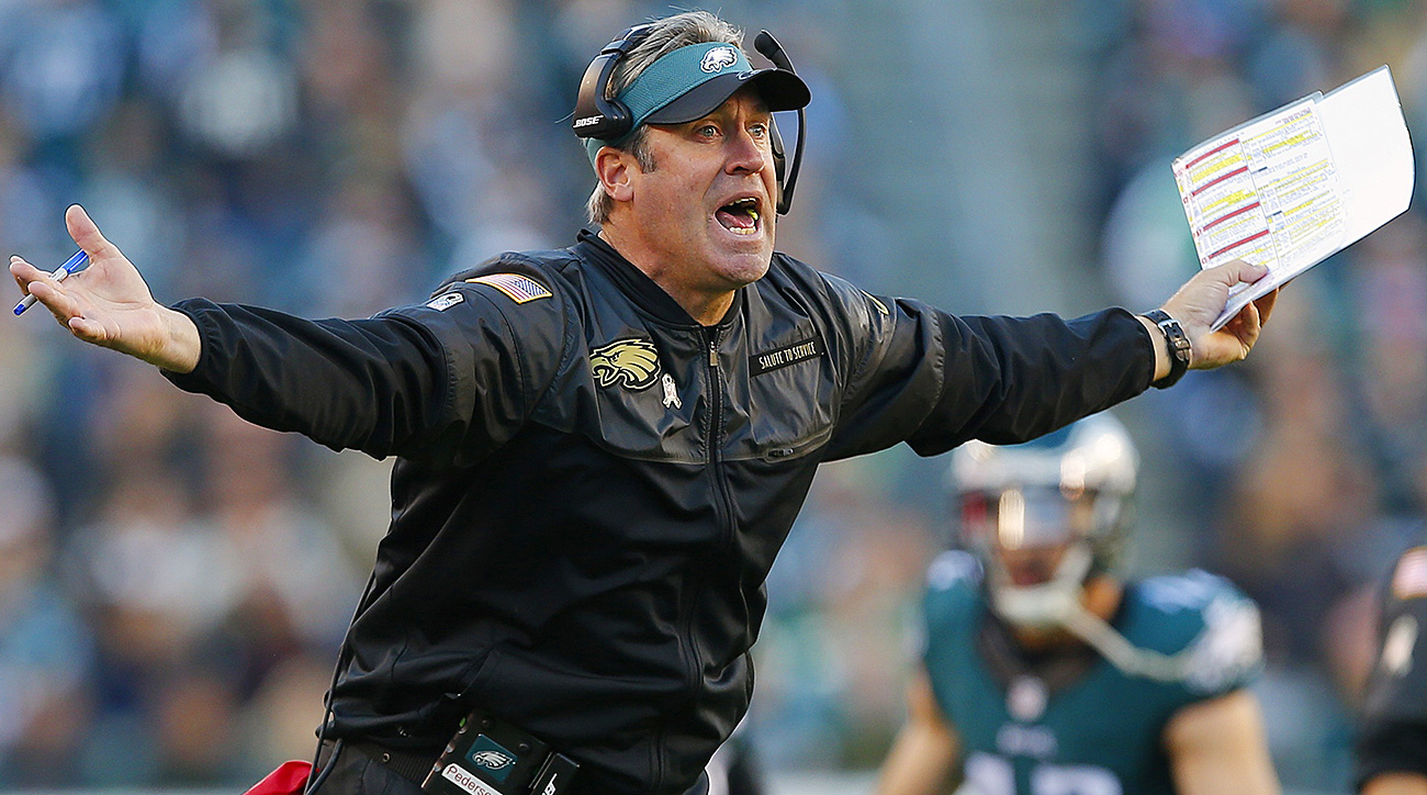 SEAT TEMPERATURE: WARMING UP — One year is not nearly enough time to evaluate a head coach, but Pederson also wouldn't be the first sent packing after 16 games. Mike Mularkey, Hue Jackson, Jim Mora Jr., and others are on that dubious list. Pederson recently had to vouch for his own job security. That happened before the Eagles' Week 14 loss, their fourth straight and eighth in their past 10 games. They lost again Sunday to Baltimore, although showed in the process that they haven't quit on Pederson. Fair or not, Pederson's job will be tied to Carson Wentz's progress for as long as both are in Philadelphia.