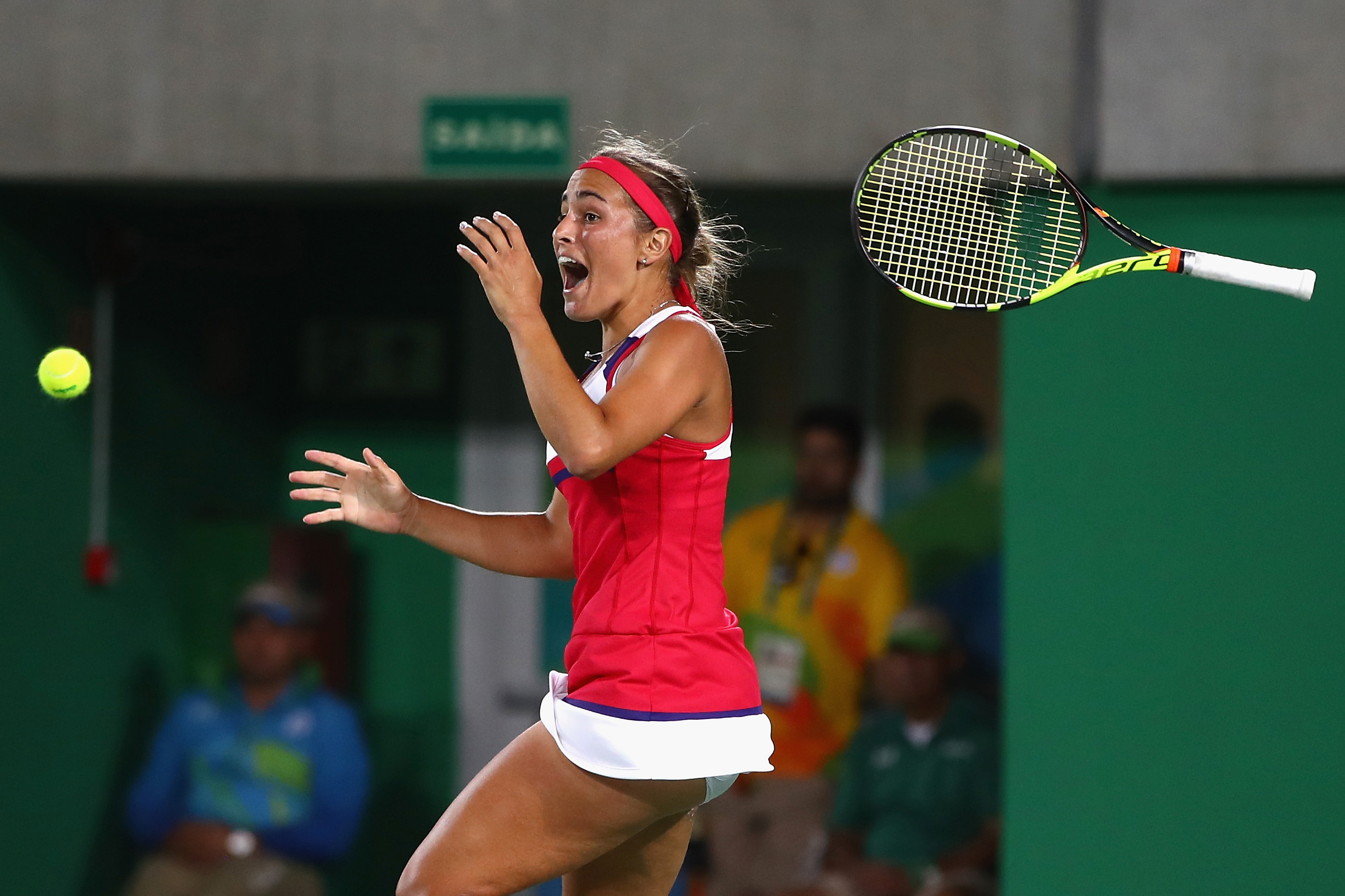 Puig came out of nowhere to win Puerto Rico's first–ever gold medal at the Olympic Games. She upset Angelique Kerber in the gold–medal match after knocking off the likes of Garbine Muguruza and Petra Kvitova earlier in the tournament.