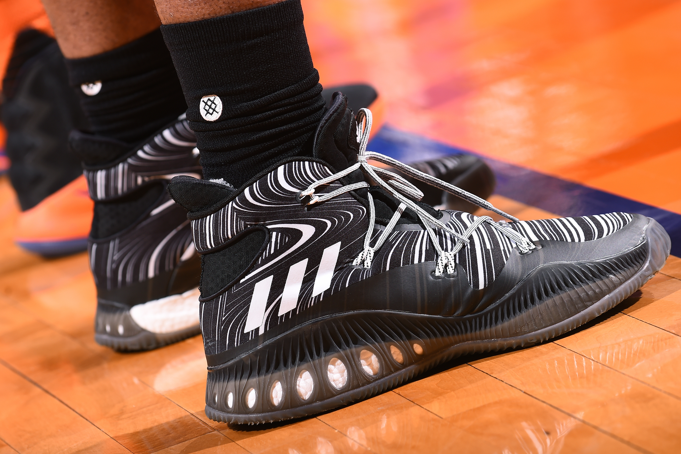 adidas Crazy Explosive worn by Kevon Looney