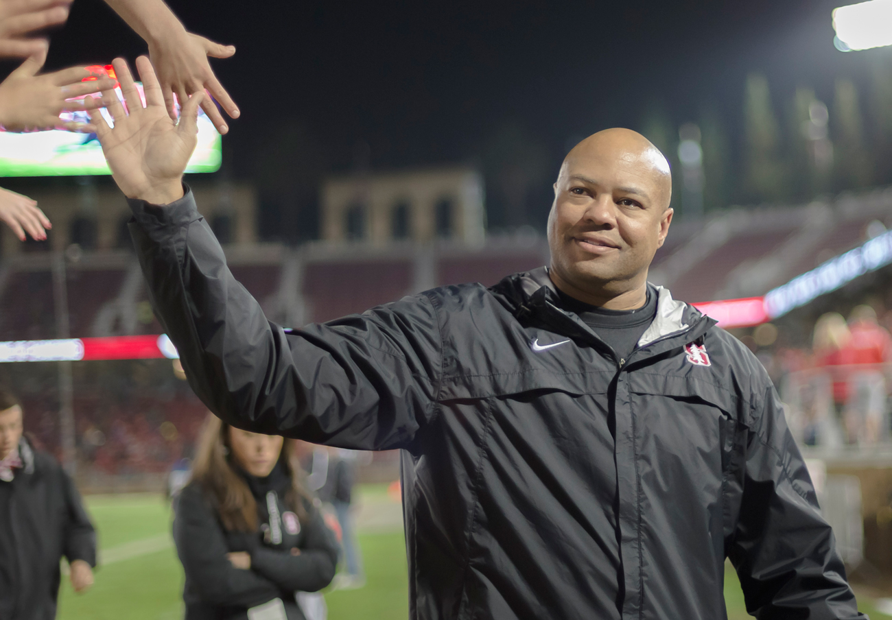 David Shaw has led Stanford to a 63-17 record in six seasons as head coach.