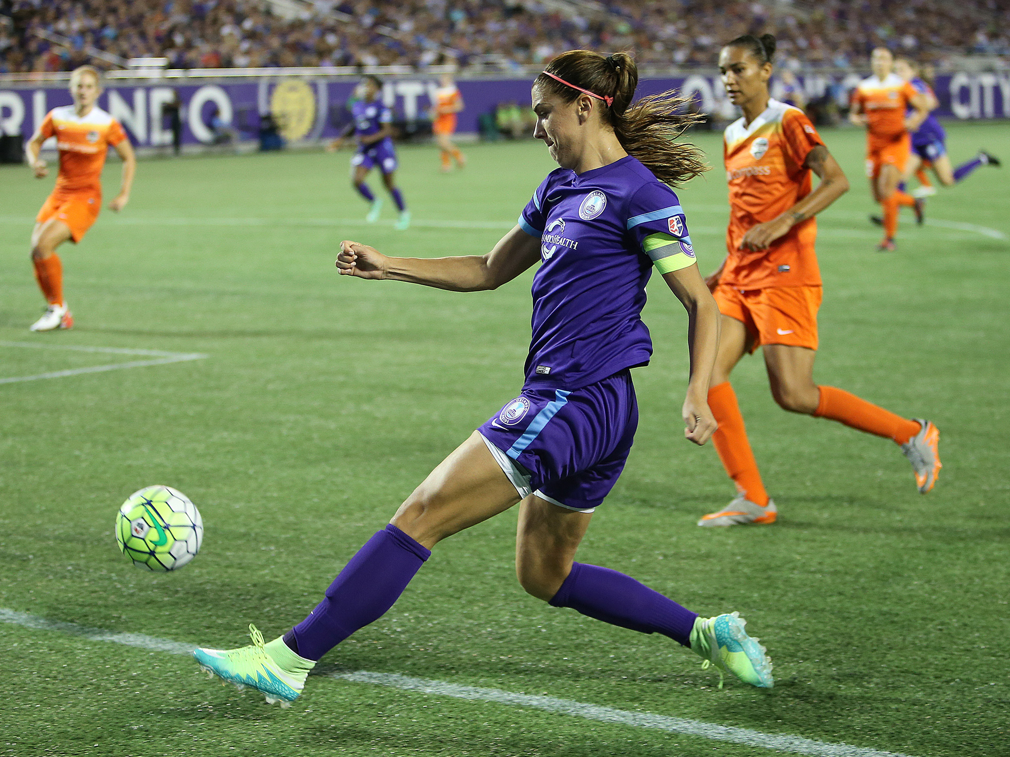 c5a320d73c0 Alex Morgan will be leaving Orlando for six months to play for Lyon