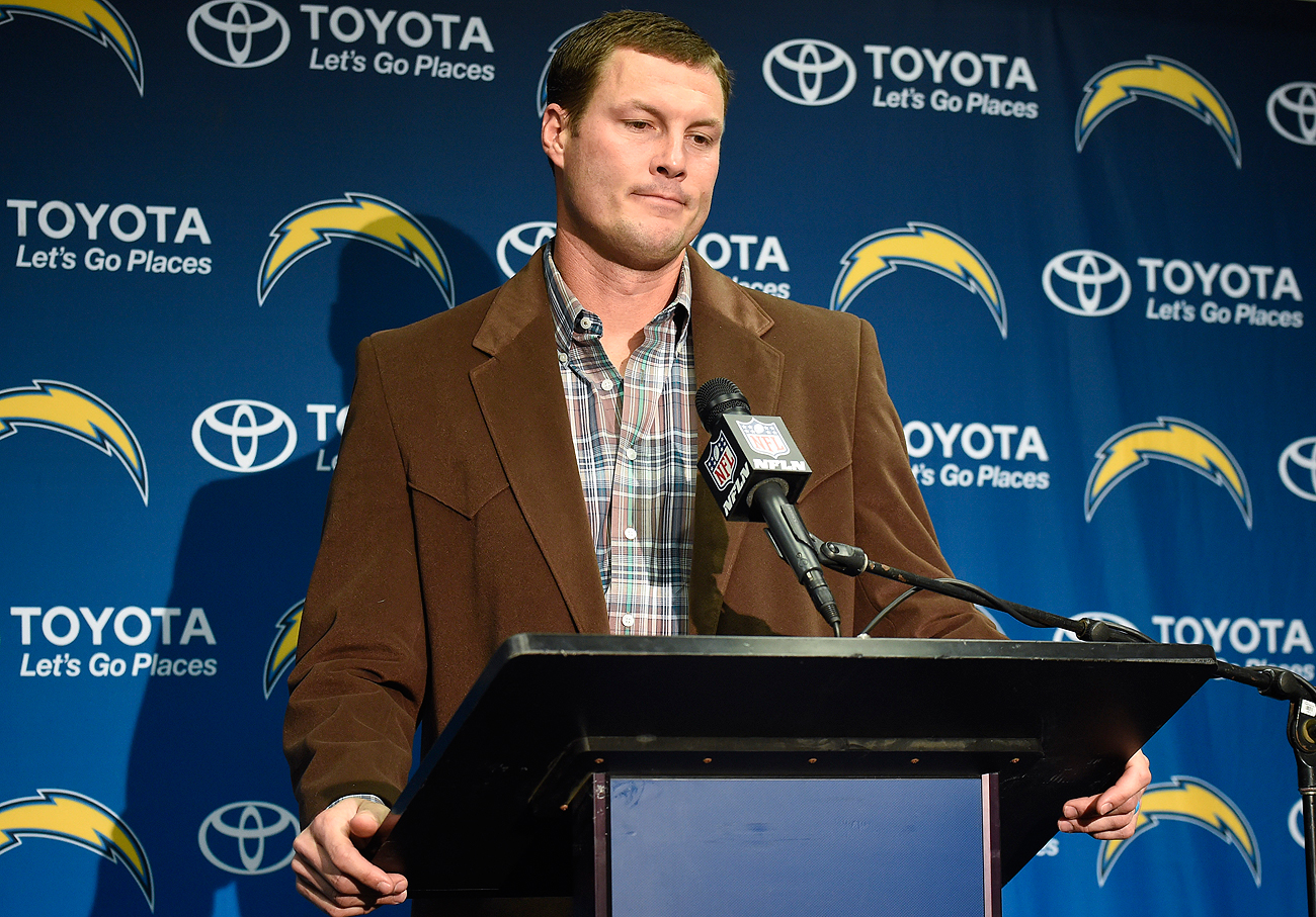 It's been a disappointing season for Philip Rivers and the Chargers, on and off the field.