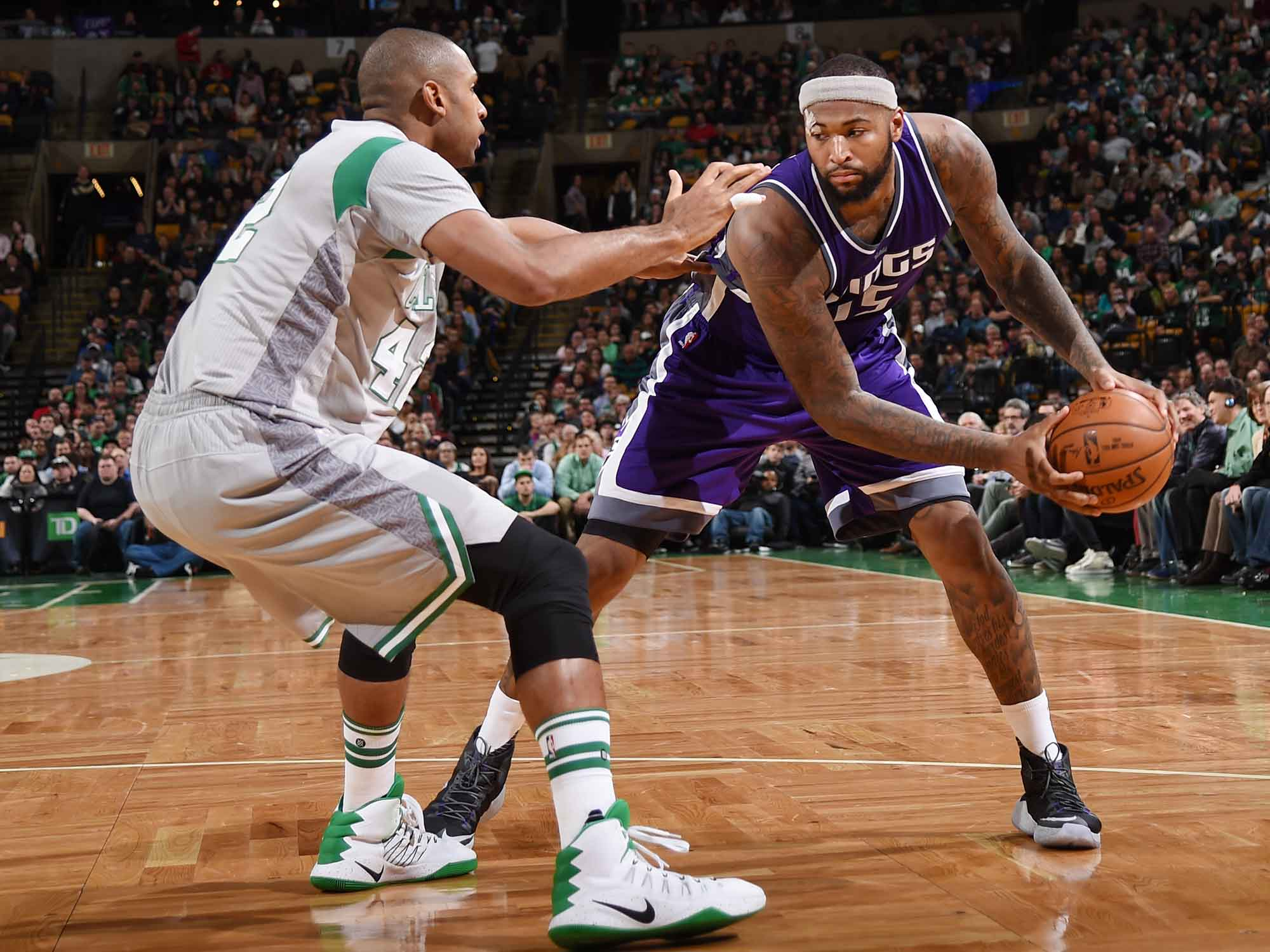 DeMarcus Cousins and Al Horford